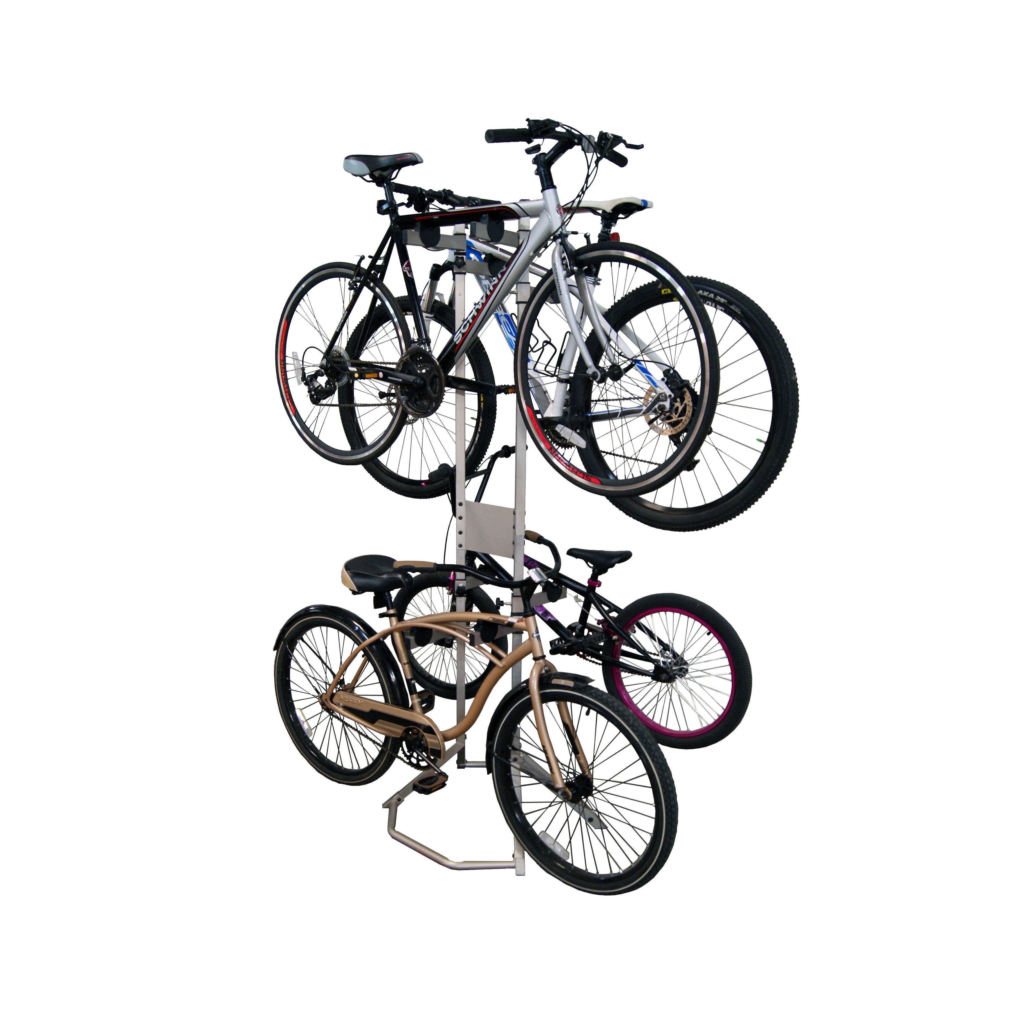 gear up inc  platinum series extra 2 bike kit freestanding