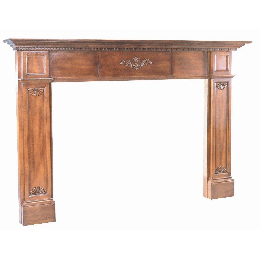 Pearl mantels the jefferson fireplace mantel surround reviews wayfair - Mantelpiece surround ...