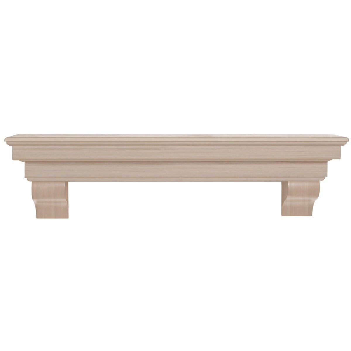 Pearl Mantels Auburn Fireplace Mantel Shelf Reviews