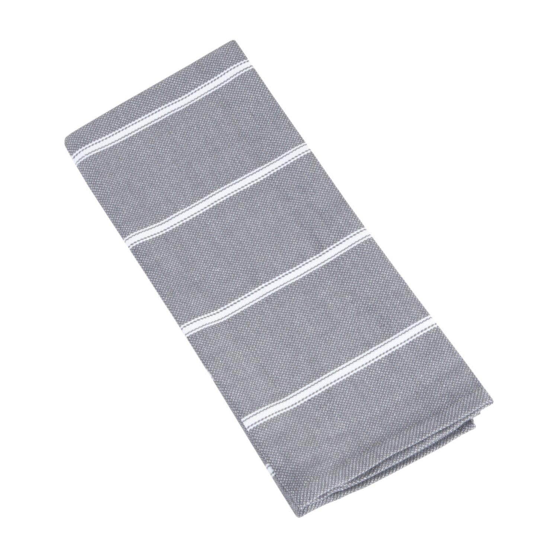 Kitchen Towels: Saro Striped Kitchen Towel & Reviews