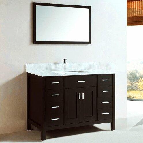 Kokols 48 Quot Single Bathroom Vanity Set Ii With Mirror