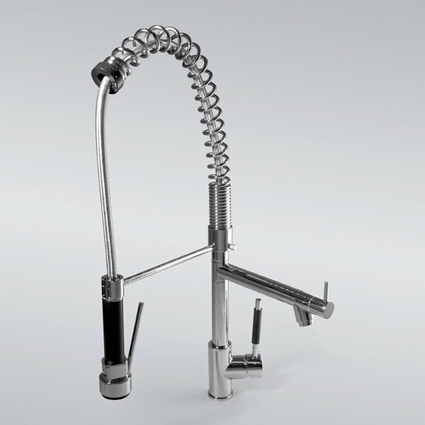 Delta tub faucet with hand shower