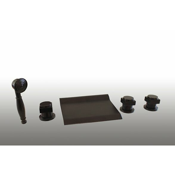 Kokols Waterfall Bathroom Roman Tub Shower Faucet Trim Set Reviews Wayfair