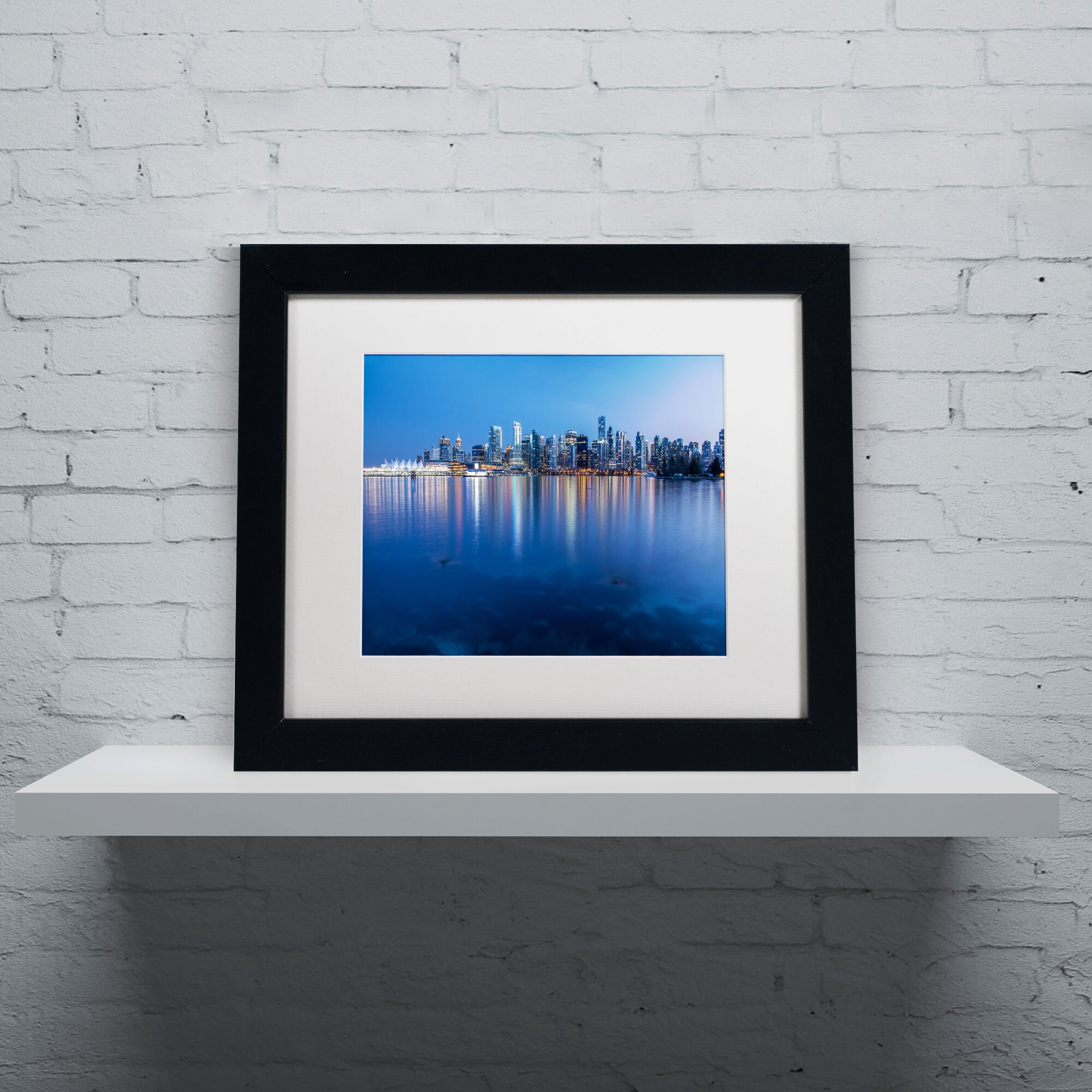 Trademark Art Vancouver City Reflection by Pierre  : Trademark Fine Art Vancouver City Reflection by Pierre Leclerc Framed Photographic Print from www.wayfair.com size 2000 x 2000 jpeg 397kB