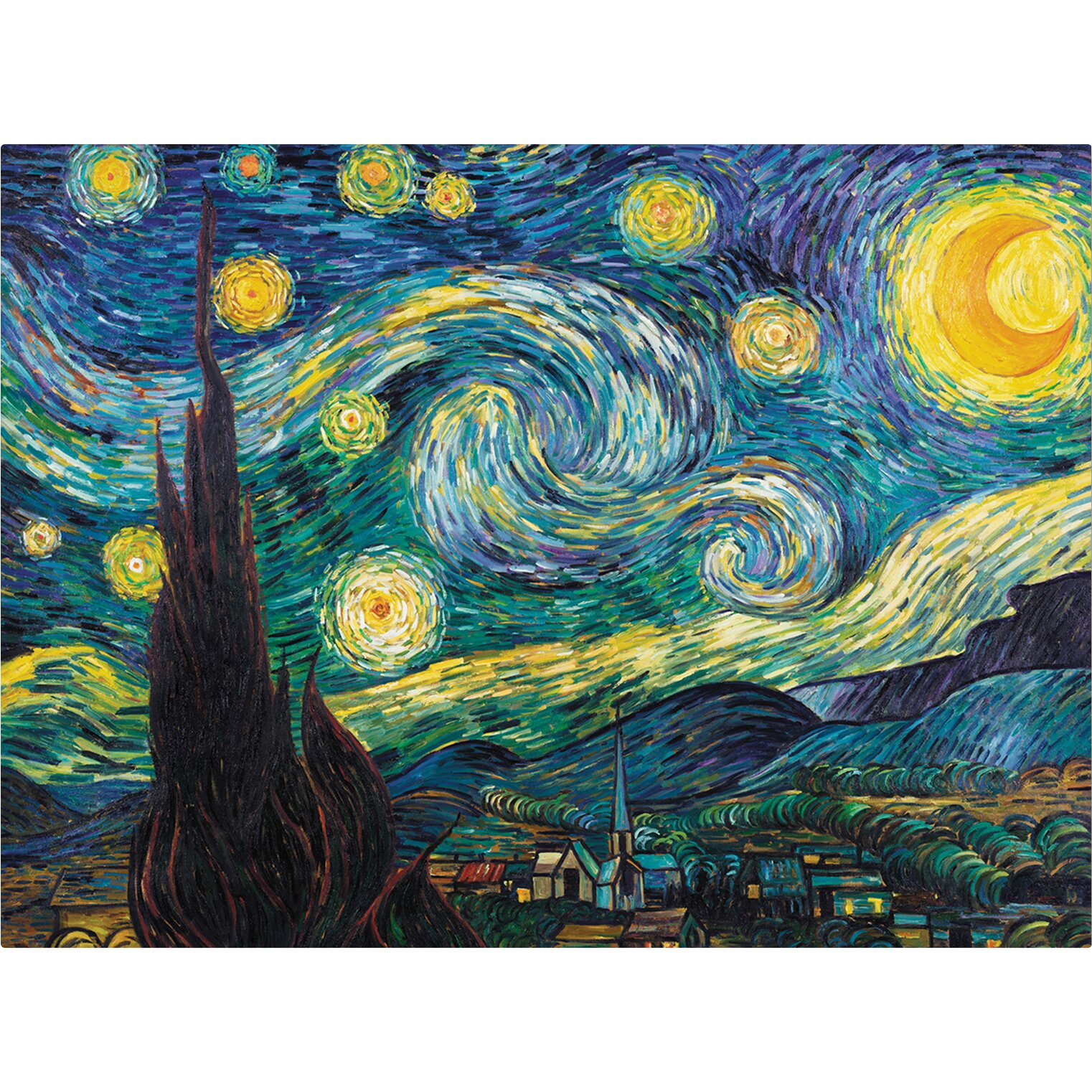 This is a picture of Refreshing Starry Night Printable