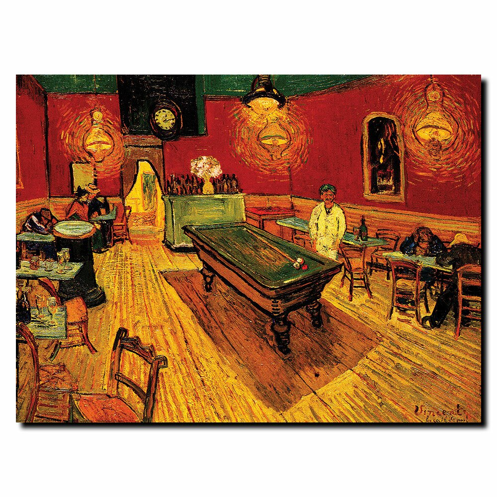 The poker night van gogh