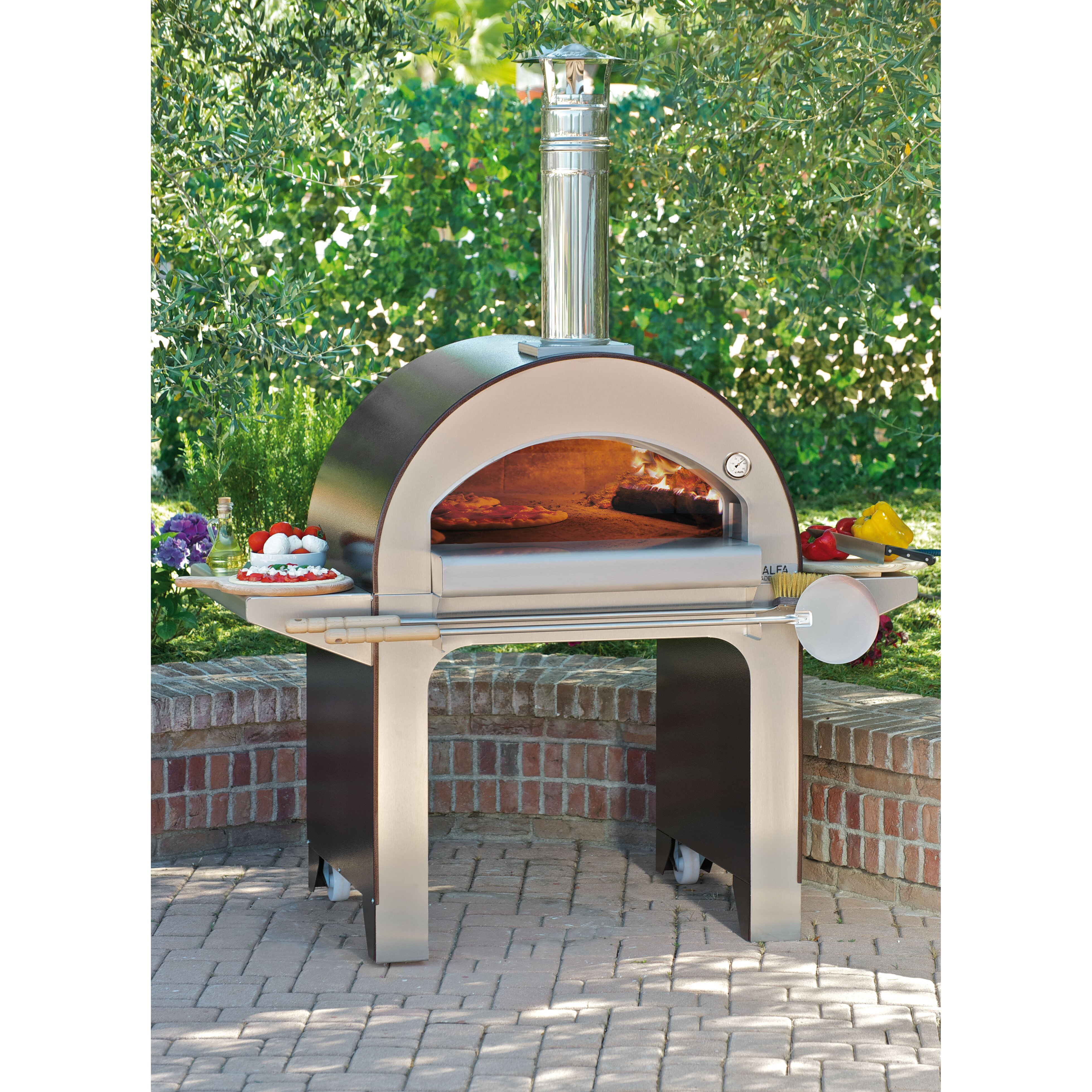 Kitchen Pizza Oven Wood