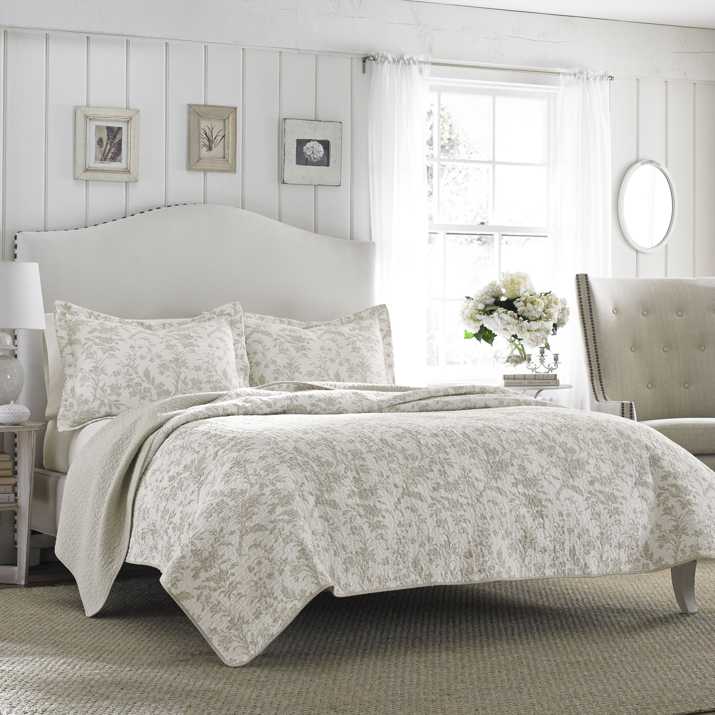 Laura Ashley Home Riley Quilt Set amp Reviews