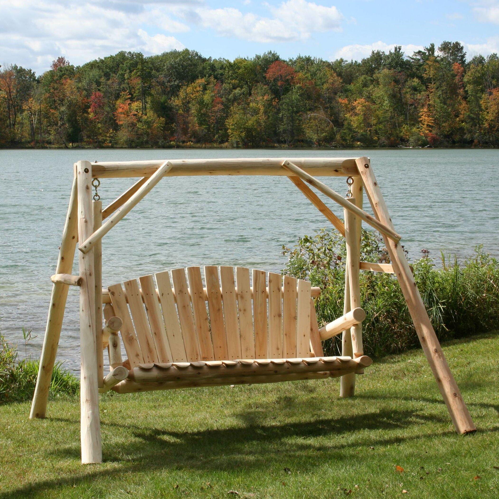 Lakeland Mills Porch Swing Amp Reviews Wayfair