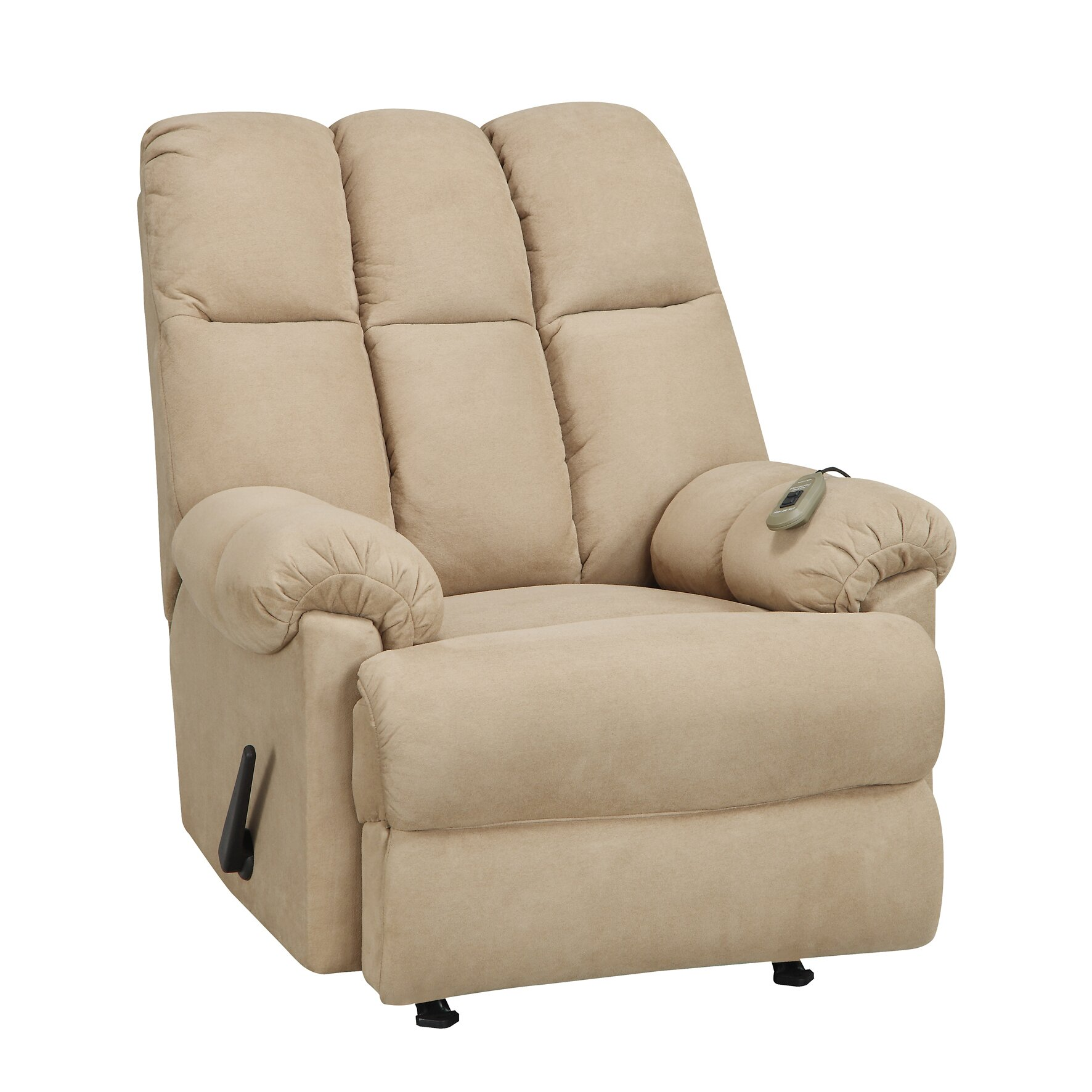 Dorel Living Padded Massage Recliner Amp Reviews Wayfair