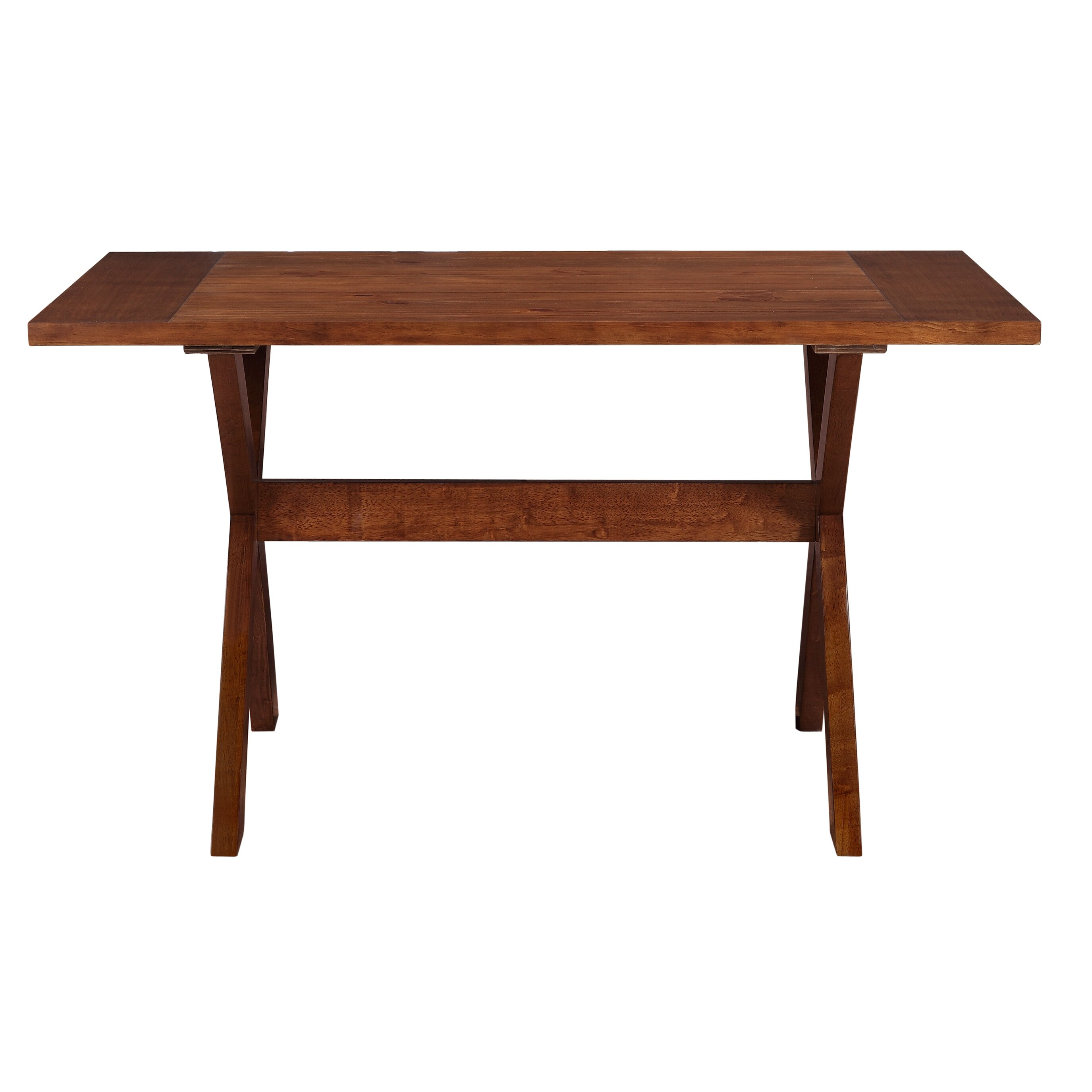 Dorel living trestle dining table reviews wayfair Trestle dining table