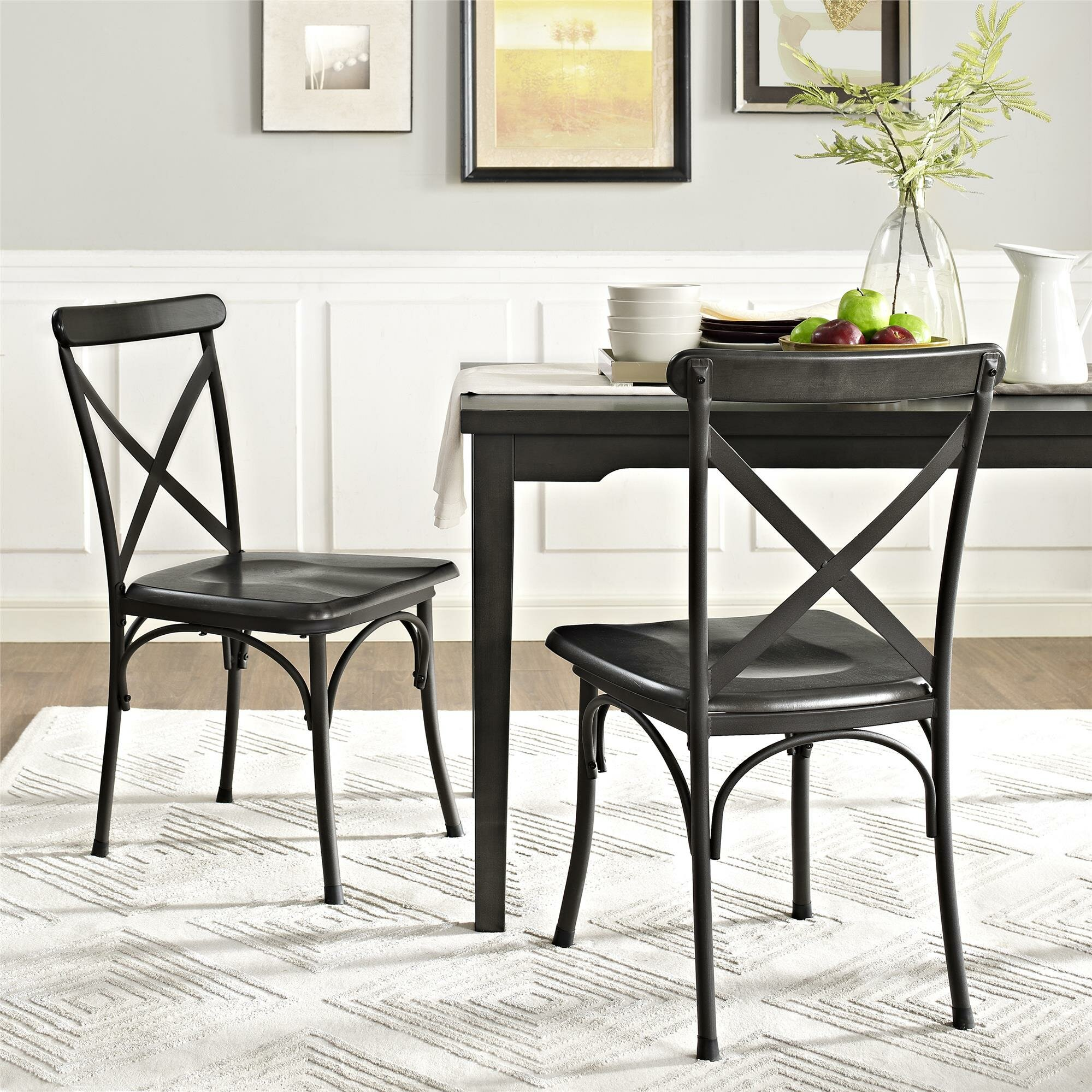 Dorel Living Parker 5 Piece Dining Set Amp Reviews Wayfair