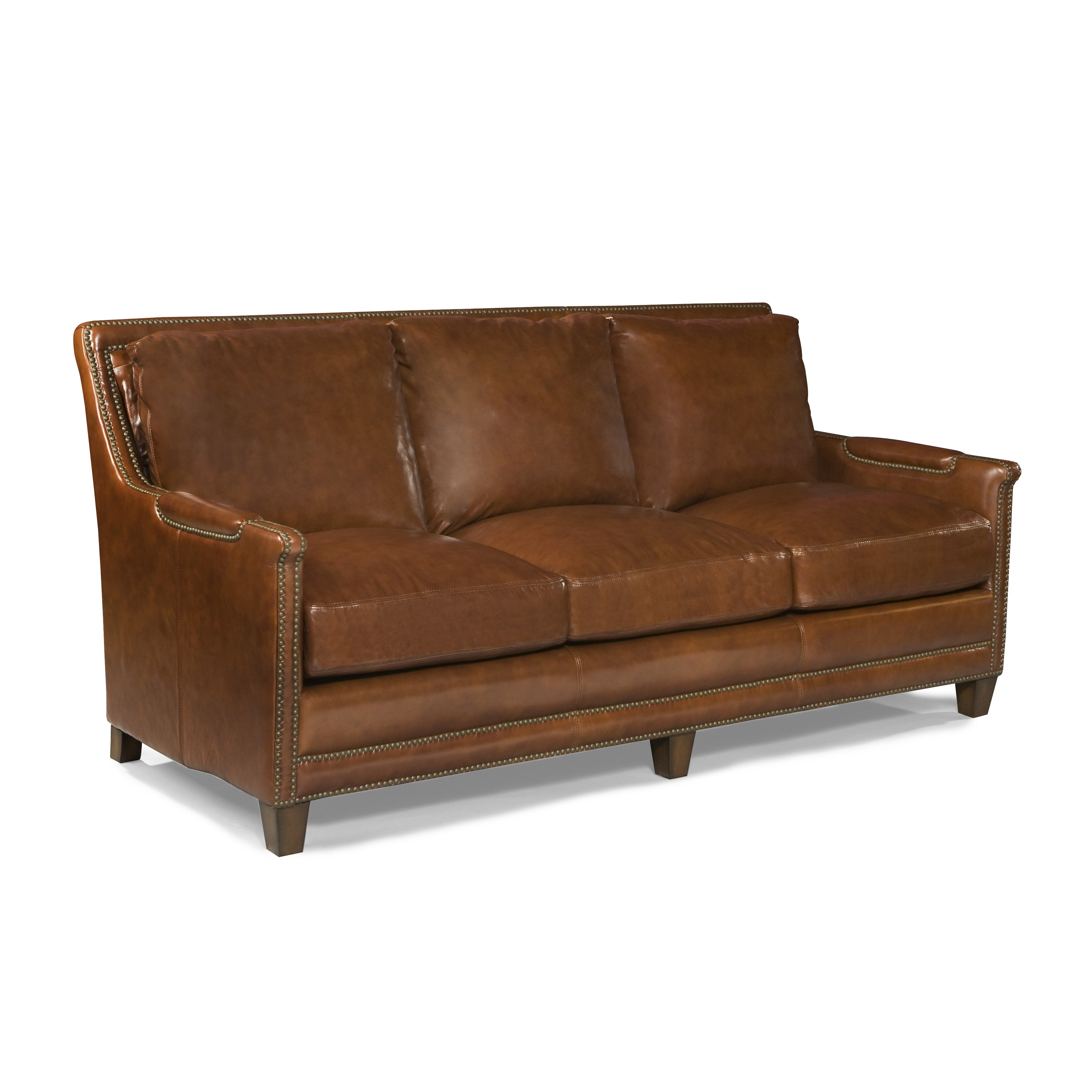 Palatial Furniture Prescott Leather Sofa & Reviews | Wayfair