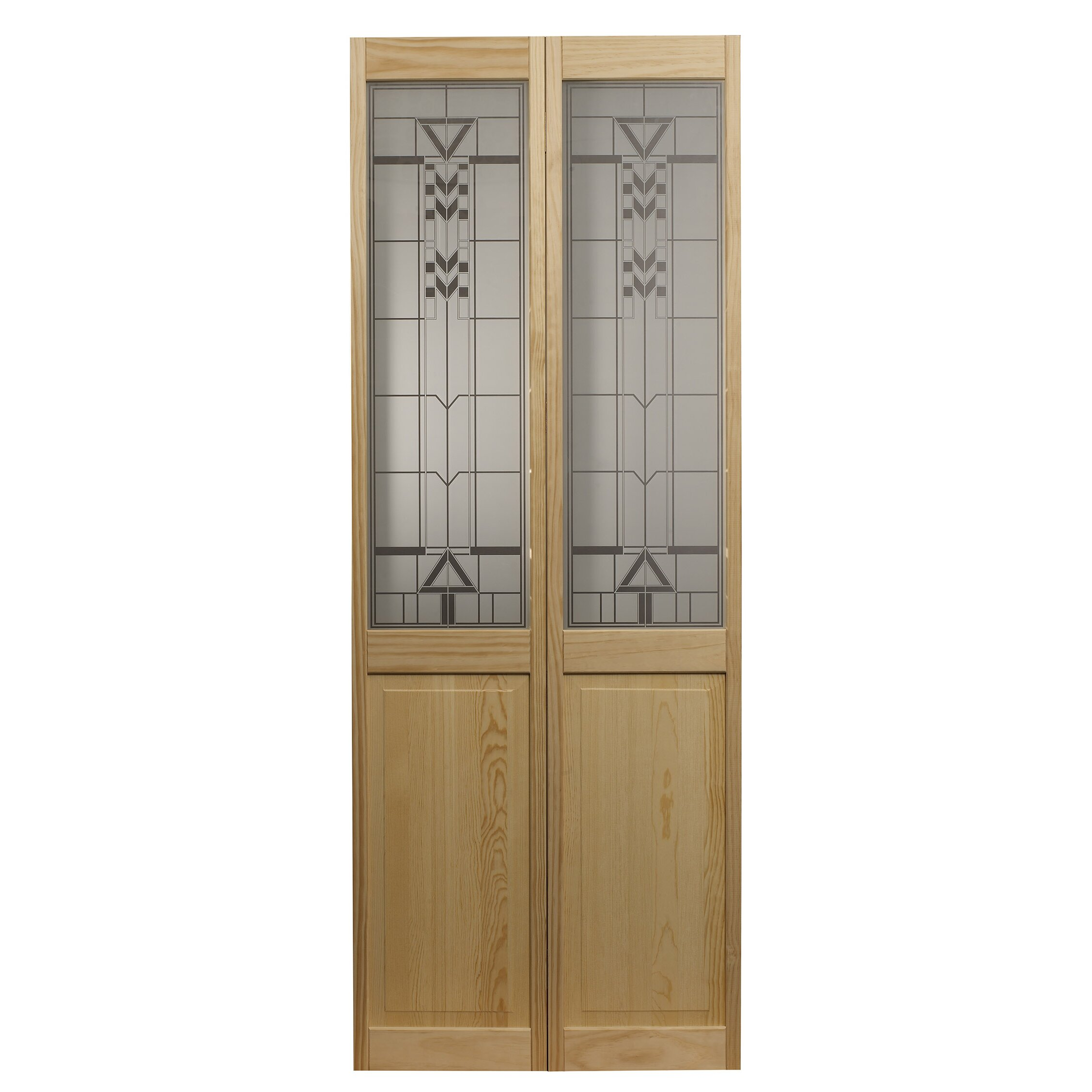 Ltl Bi Fold Doors Pinecroft Wood Unfinished Bi Fold Interior Door Reviews Wayfair
