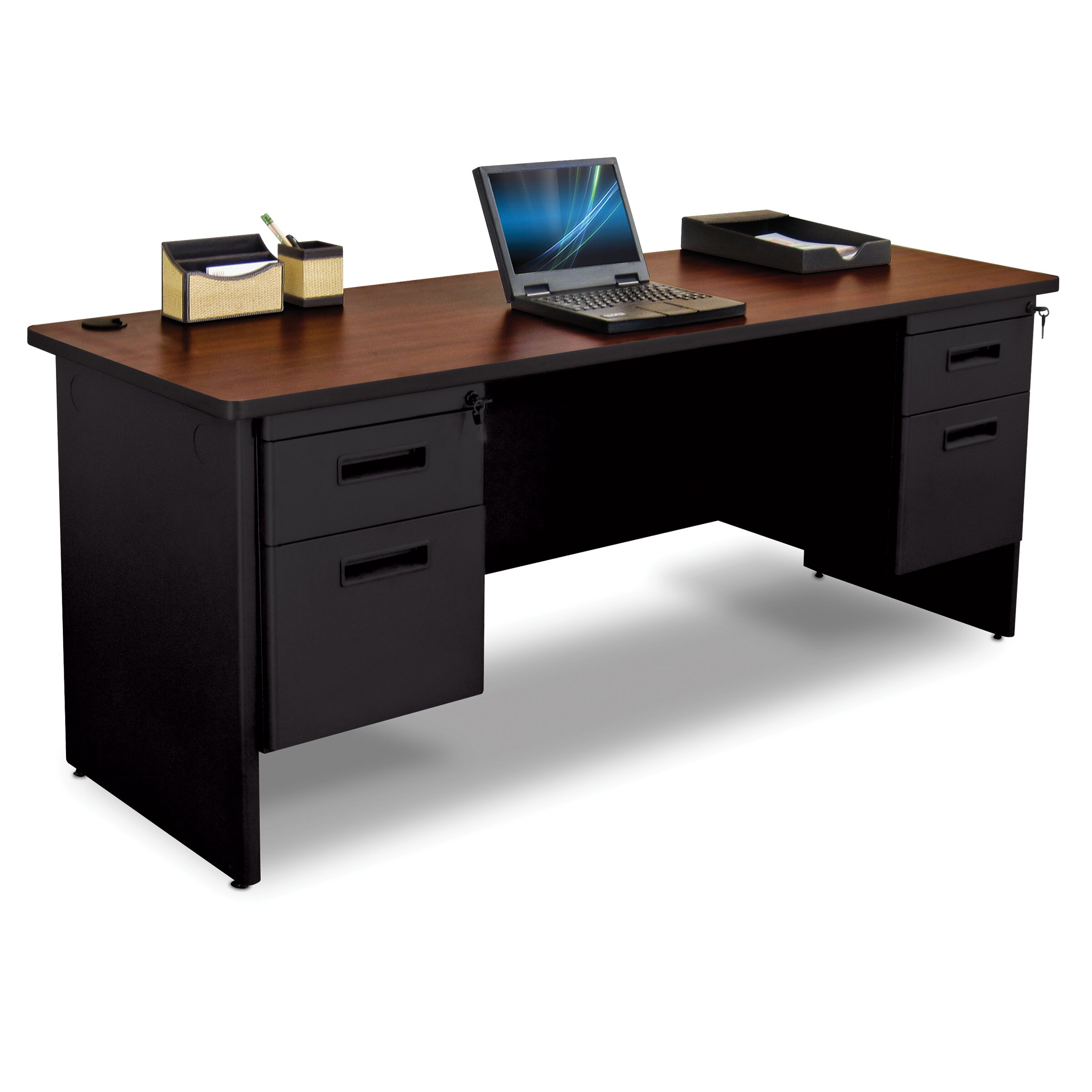 Marvel Office Furniture Pronto Executive Desk With Box And