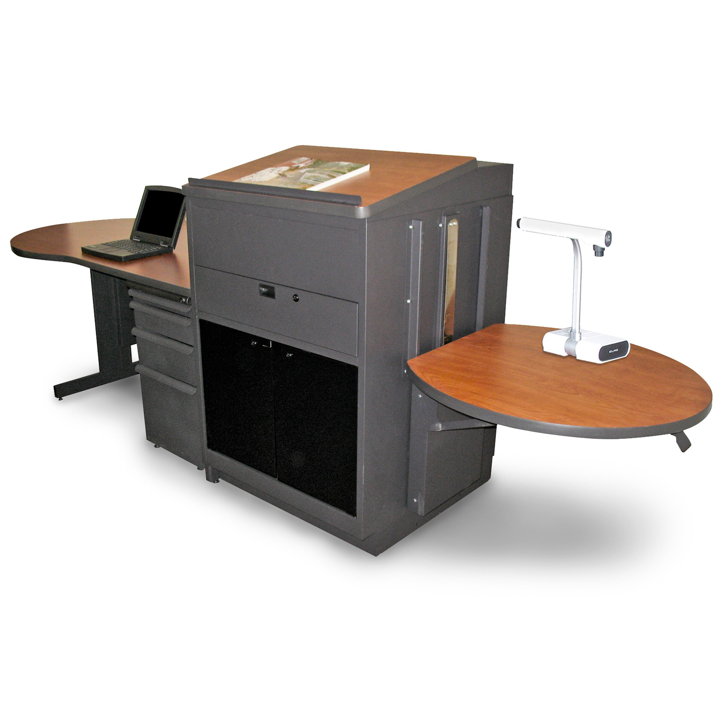 Marvel Office Furniture Vizion Teacher 39 S Desk With Media