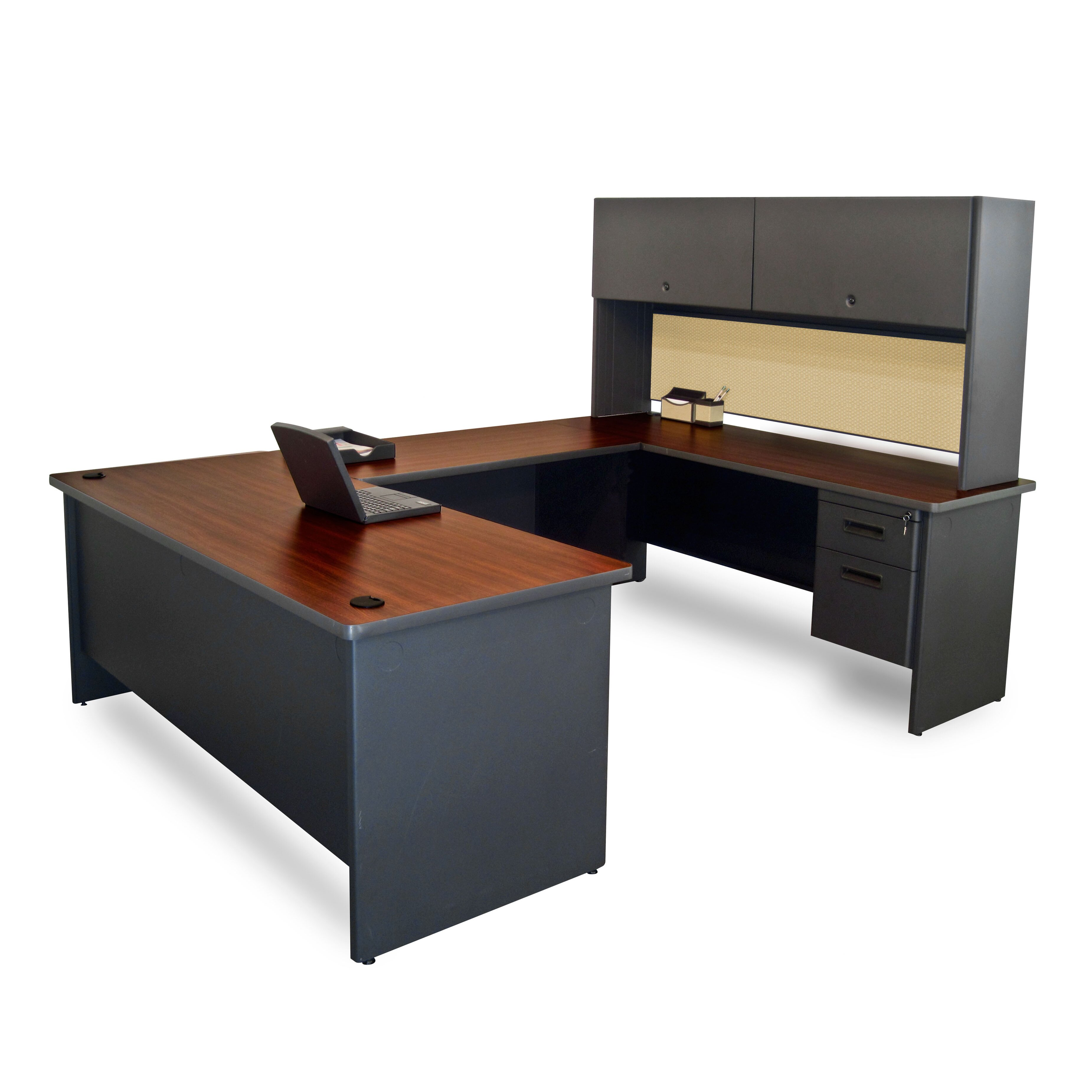 Marvel Office Furniture Pronto Flipper Door Unit U Shape