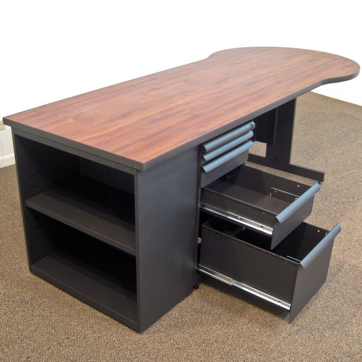 24 Excellent Bookcases With Computer Desk Yvotube Com