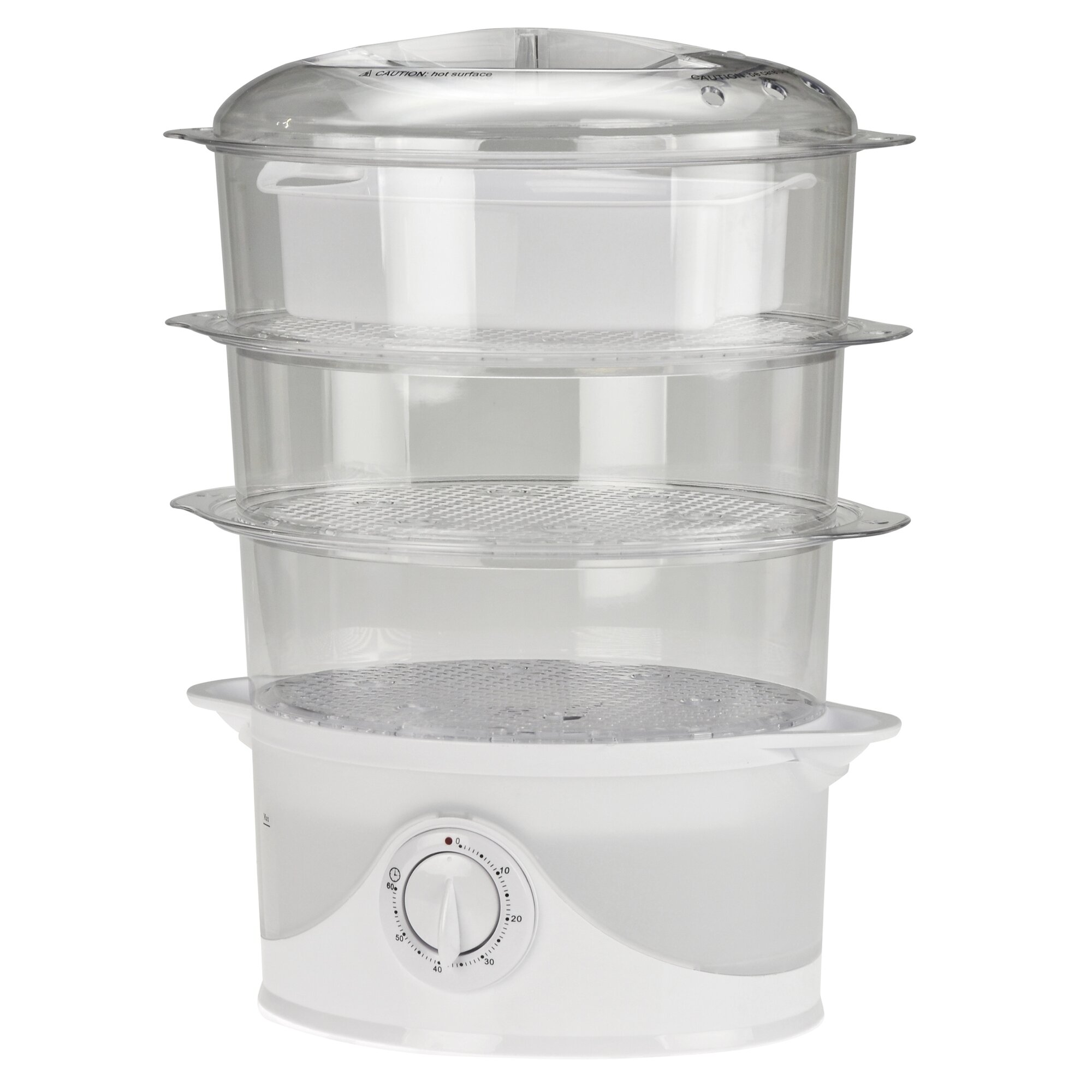 Kitchen Living Food Steamer: Kalorik 9.5 Qt. Food Steamer & Reviews