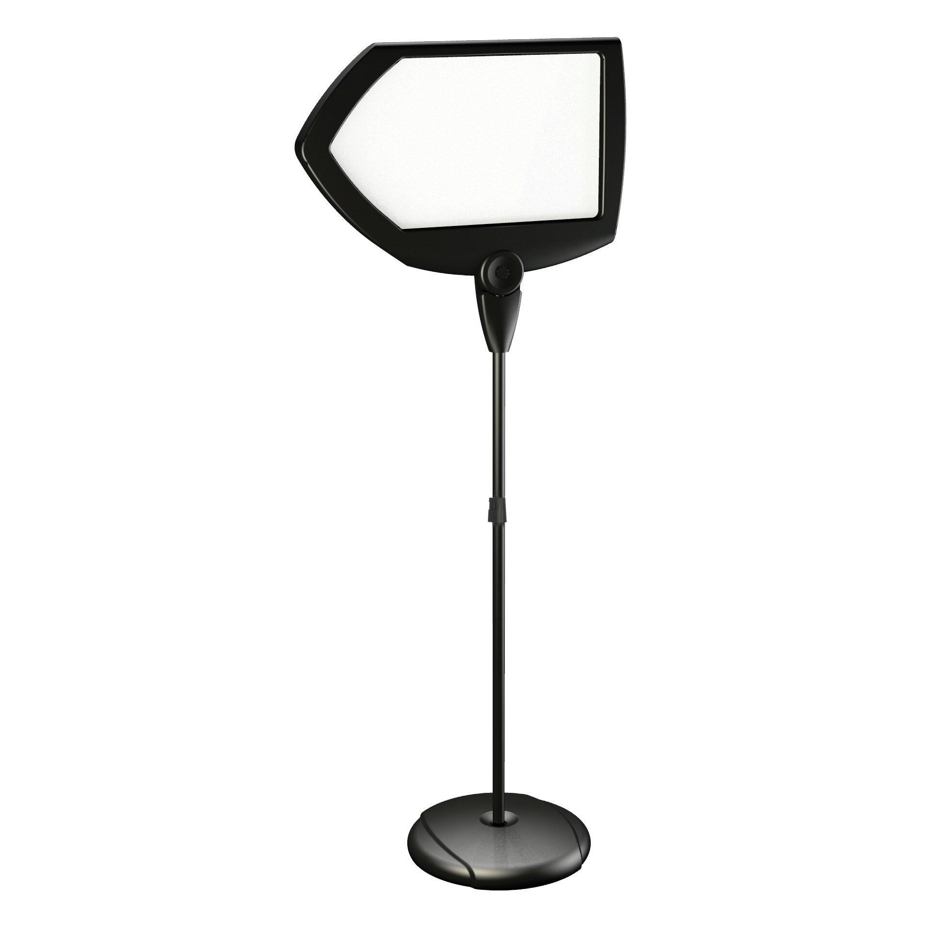 mastervision floor stand sign holder wayfair. Black Bedroom Furniture Sets. Home Design Ideas