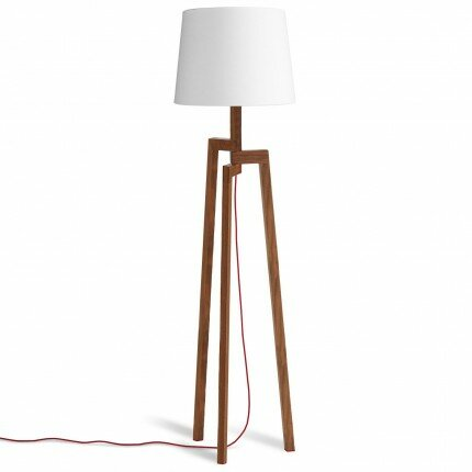blu dot stilt wooden 65 5 tripod floor lamp reviews wayfair. Black Bedroom Furniture Sets. Home Design Ideas