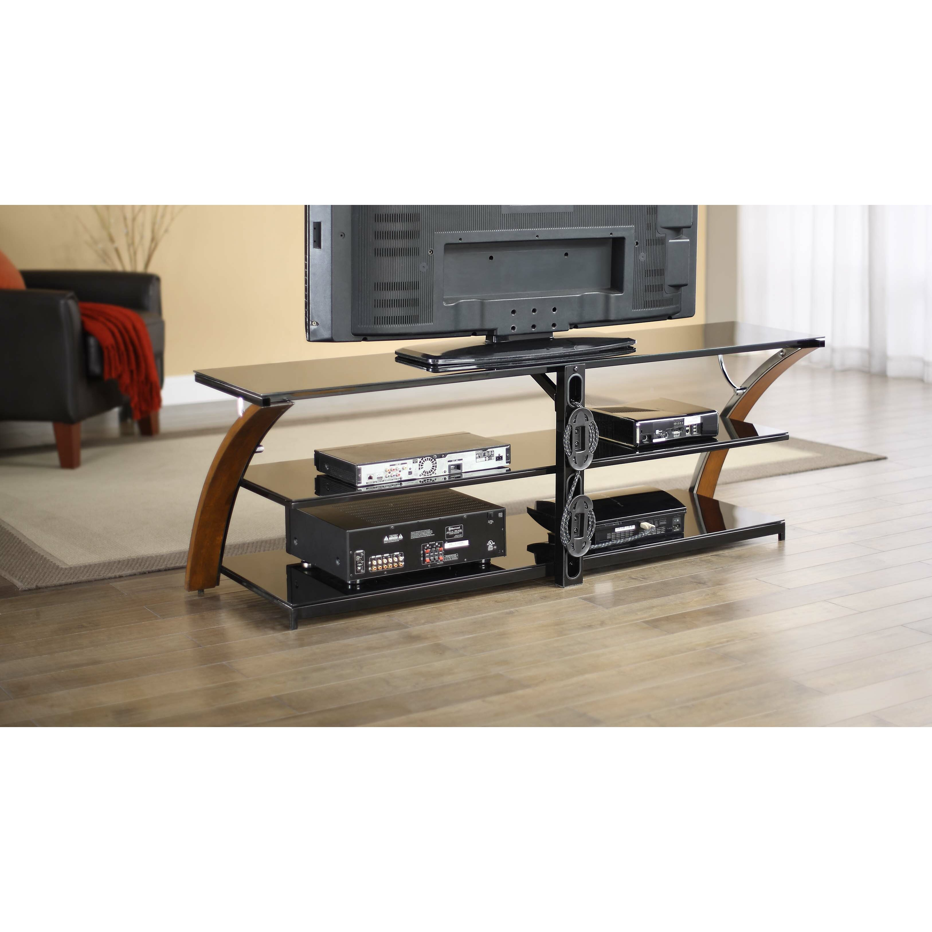 Whalen furniture payton tv stand reviews wayfair for Whalen furniture