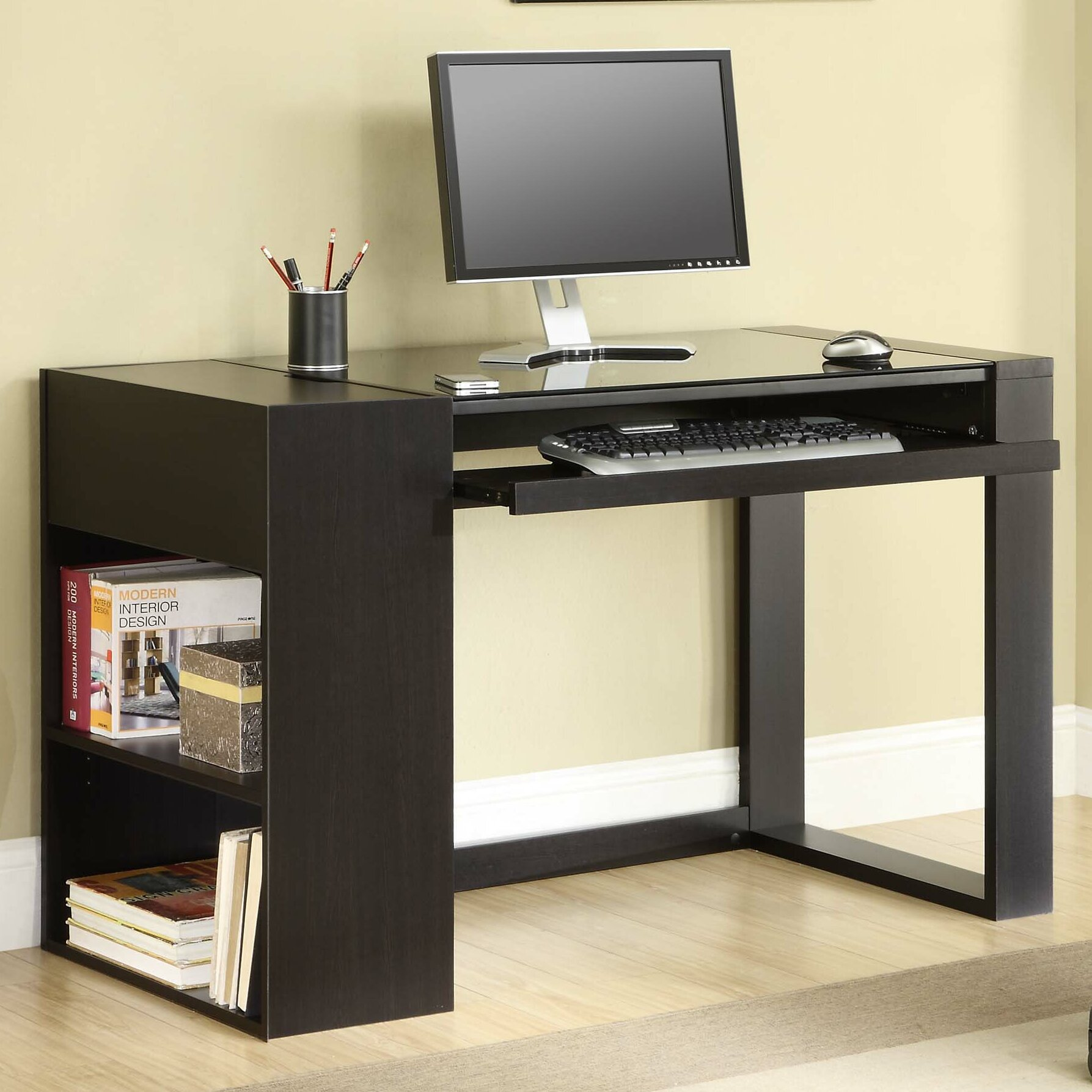 Whalen Furniture Afton Computer Desk Amp Reviews Wayfair