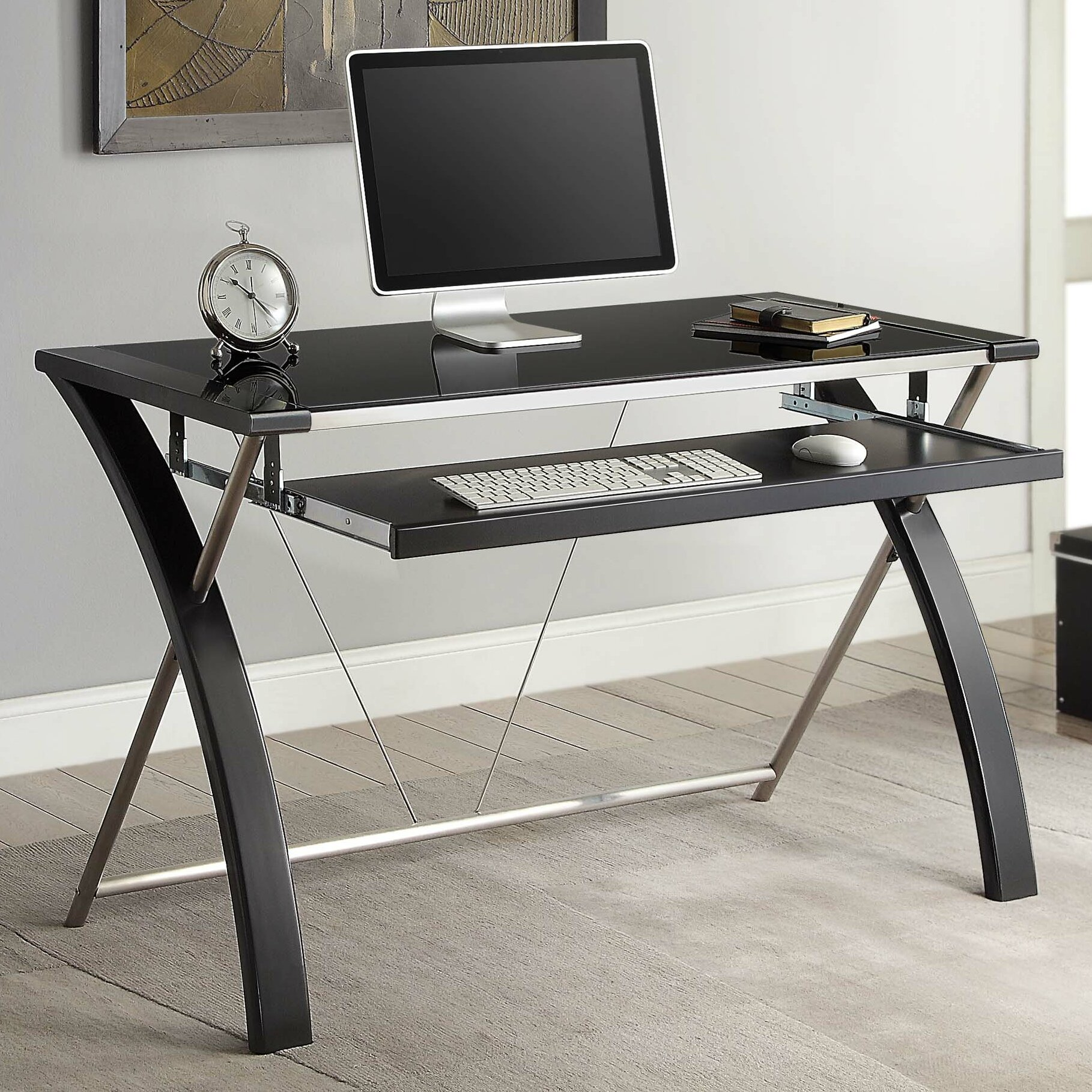 Whalen Furniture Zara Computer Desk Amp Reviews Wayfair