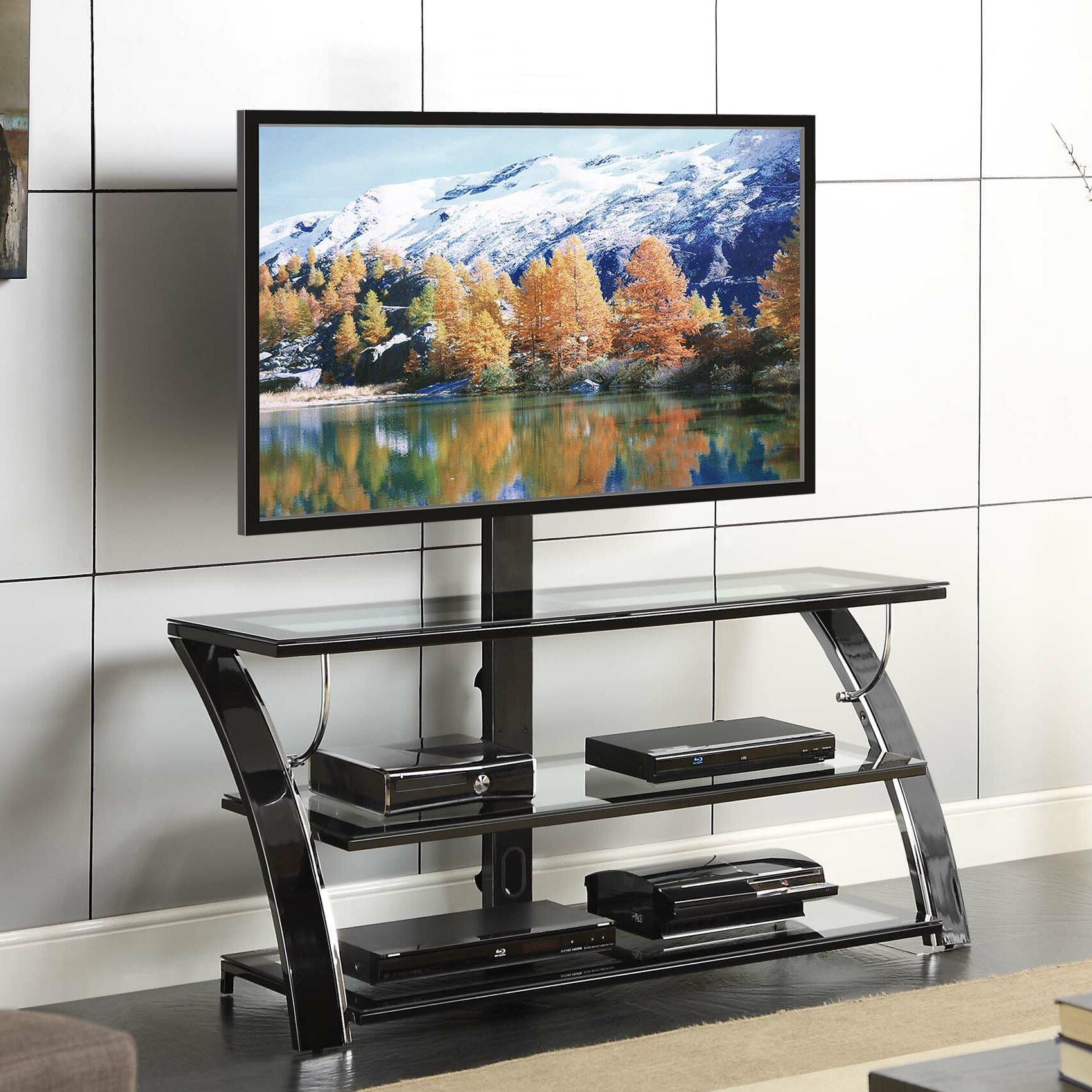 Whalen Furniture Camarillo TV Stand U0026 Reviews Wayfairca  U003e Tv Rack Buche  Glas