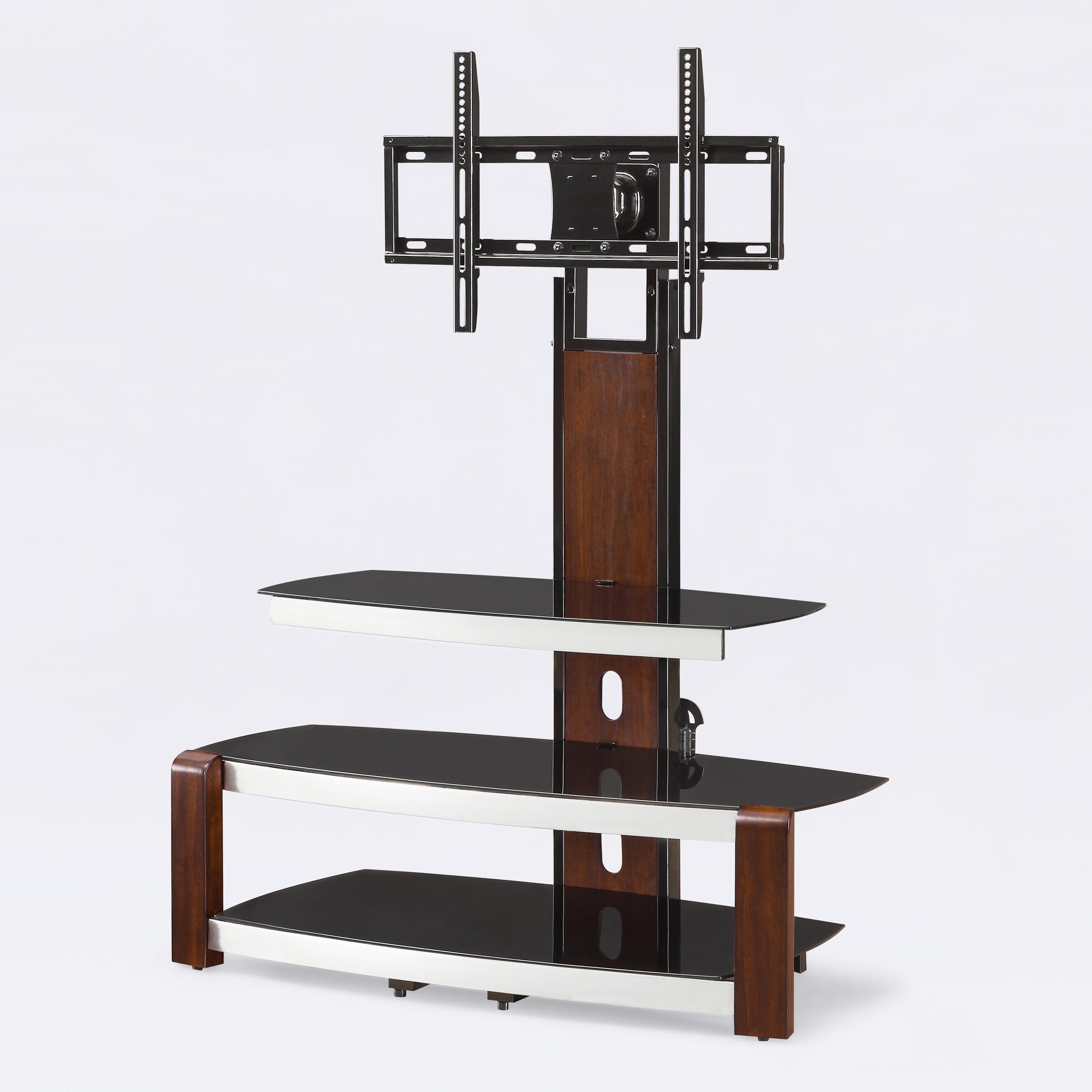 floater stand and swinging flat panel