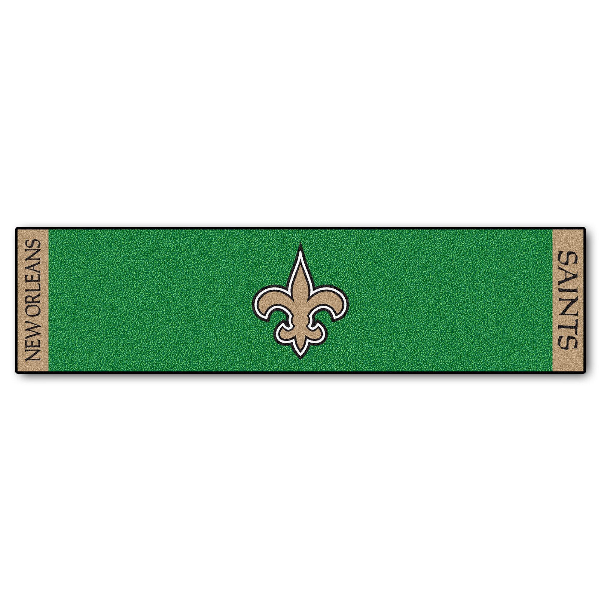 Fanmats Nfl New Orleans Saints Putting Green Mat Wayfair