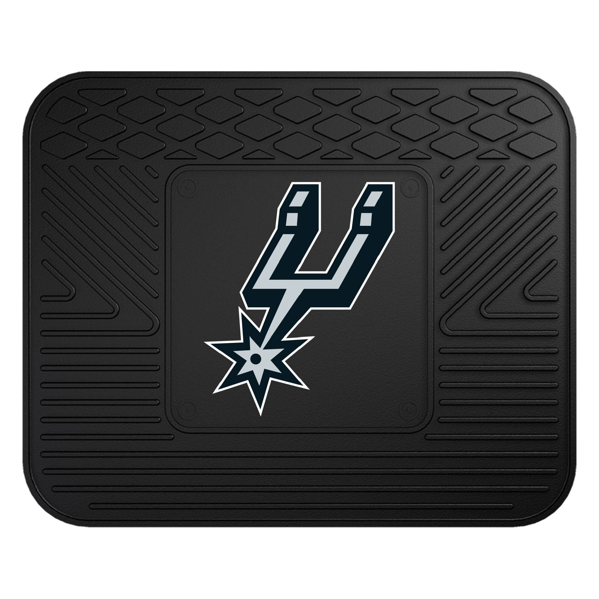 Najarian Nba Youth Bedroom In A Box: FANMATS NBA San Antonio Spurs Utility Mat