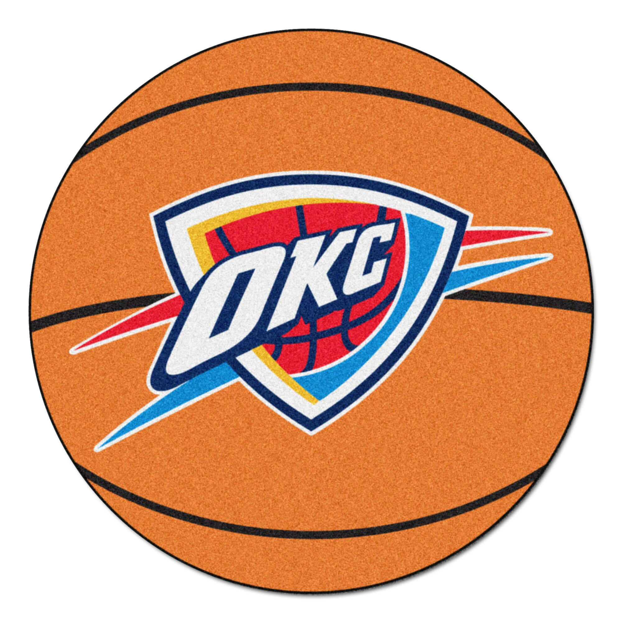 Fanmats Nba Oklahoma City Thunder Basketball Mat
