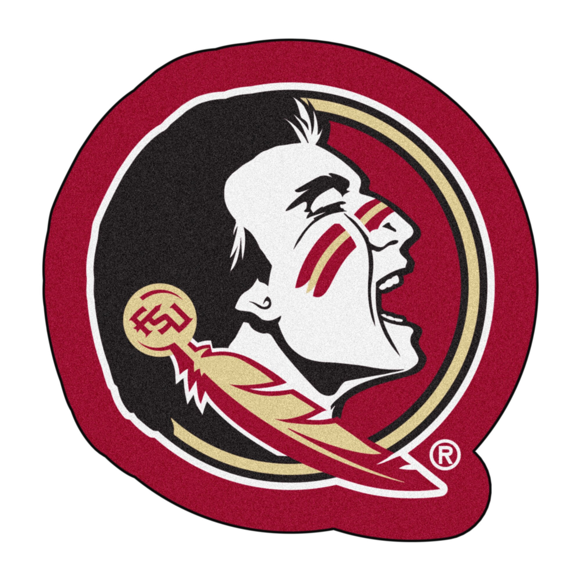 fanmats ncaa florida state university mascot mat wayfair