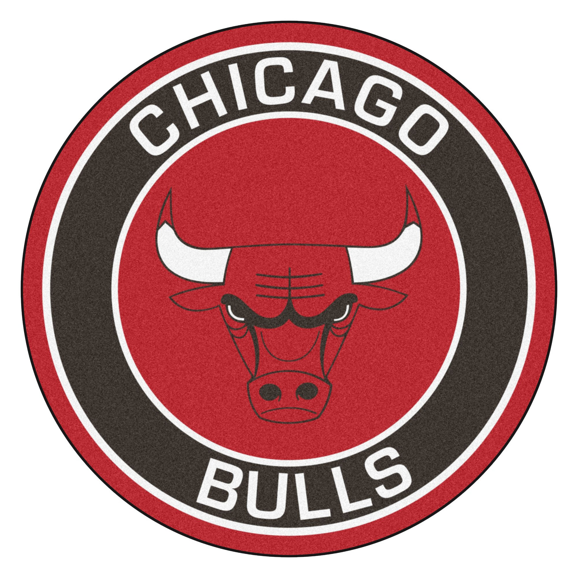 Fanmats Nba Chicago Bulls Roundel Mat Amp Reviews Wayfair