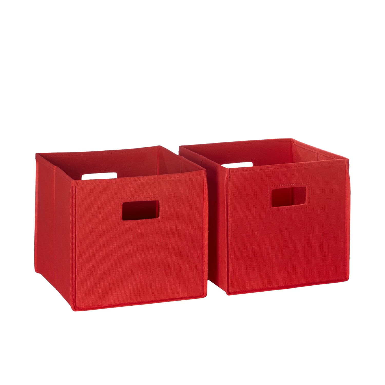 riverridge kids folding toy storage bin reviews wayfair. Black Bedroom Furniture Sets. Home Design Ideas