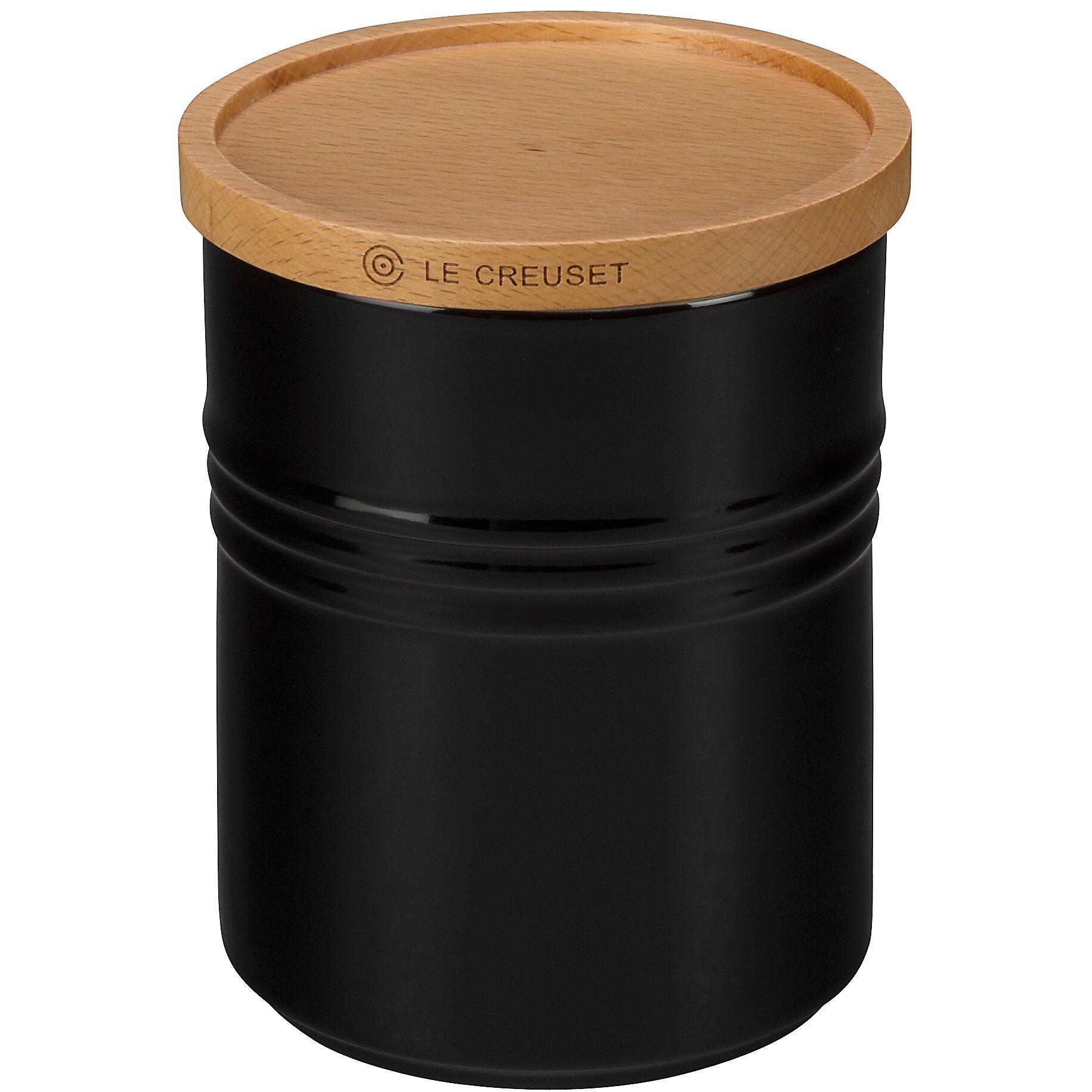 Le Creuset 2 5 Qt Canister With Wood Lid Amp Reviews Wayfair