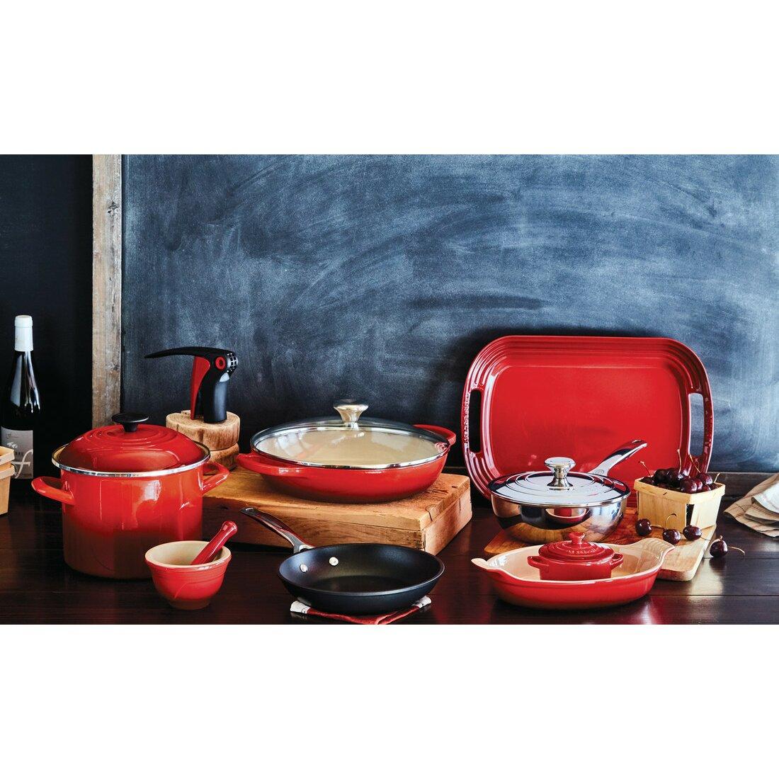 le creuset 9 nonstick frying pan reviews wayfair. Black Bedroom Furniture Sets. Home Design Ideas