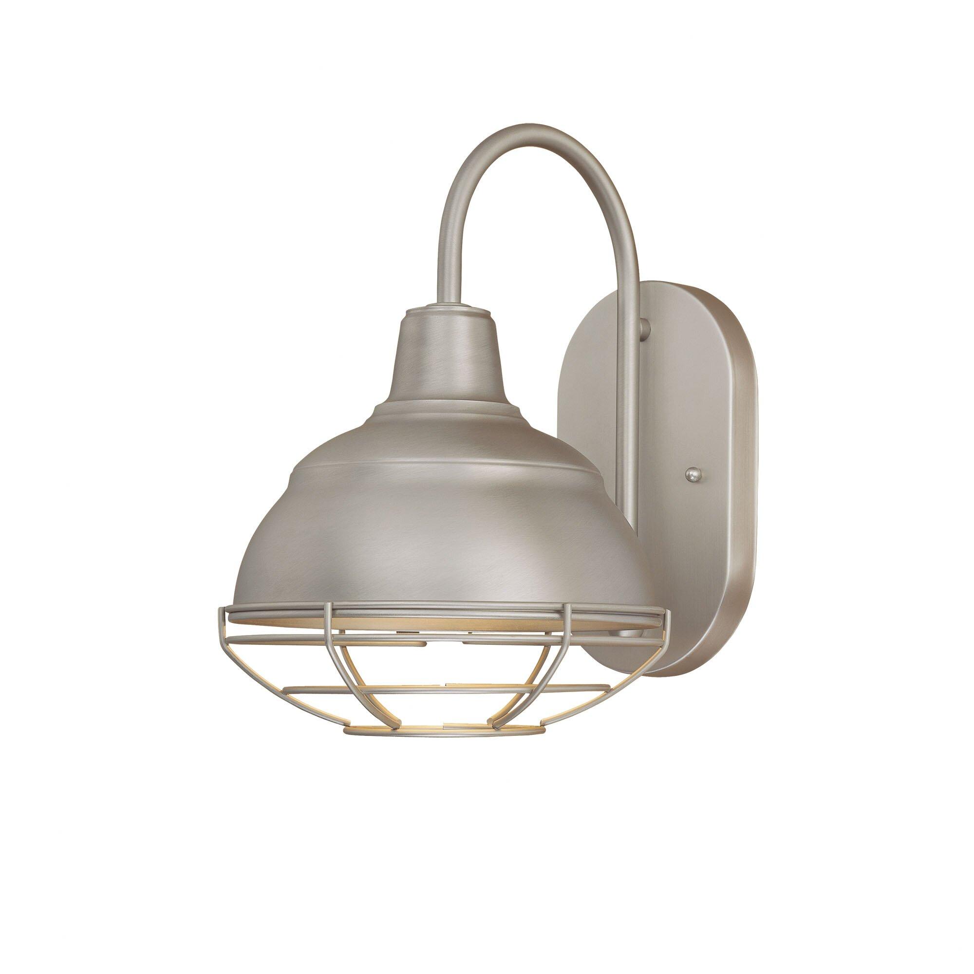Goodyear 1 Light Outdoor Barn Light: Millennium Lighting Neo-Industrial 1 Light Outdoor Barn