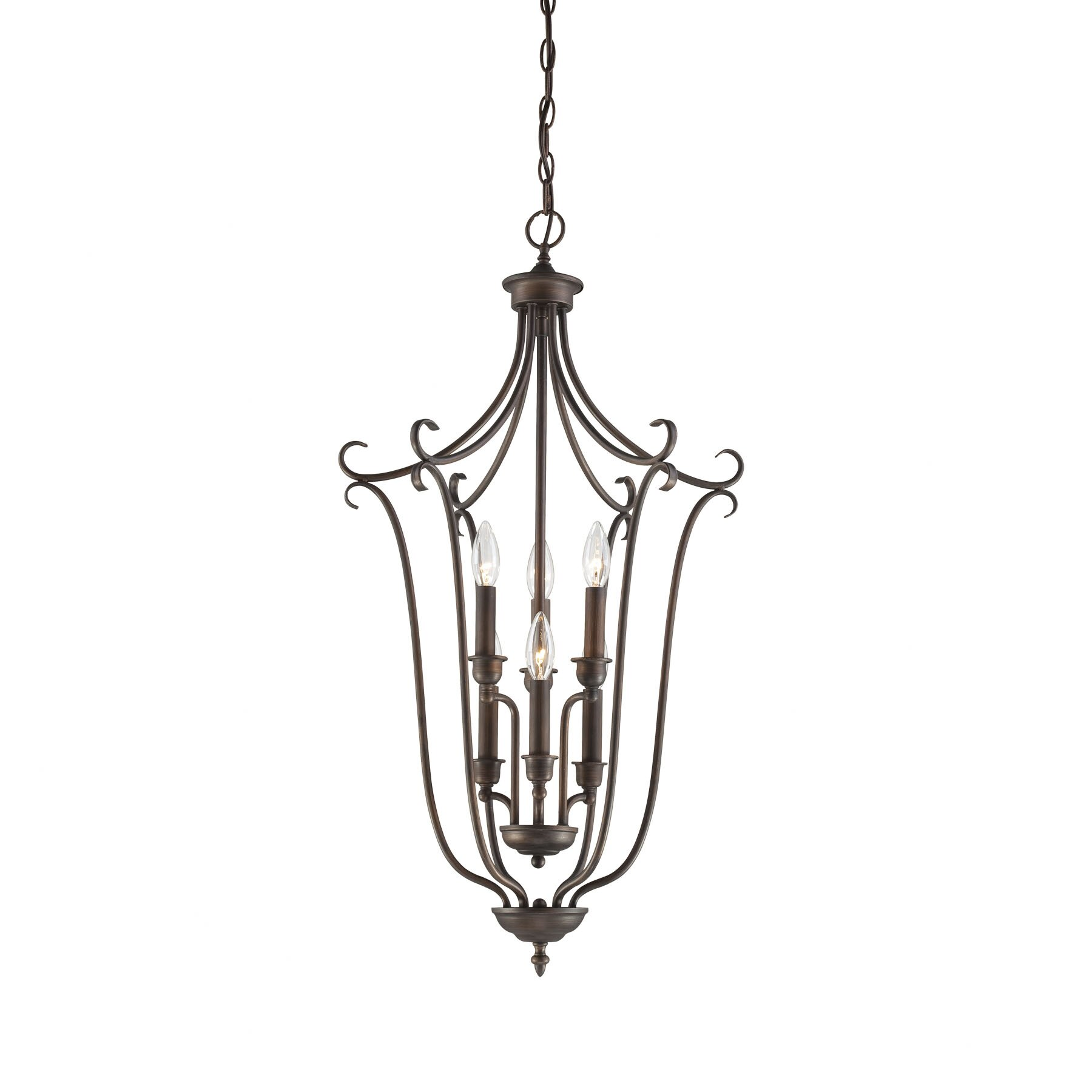 Millennium Lighting Fulton 6 Light Foyer Pendant Amp Reviews