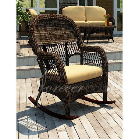 Forever Patio Leona Rocking Chair with Cushion  Wayfair