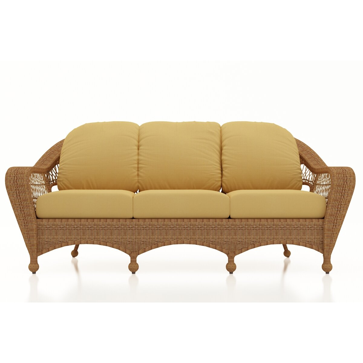 Patio Furniture Loveseat Cushions: Forever Patio Catalina Sofa With Cushions