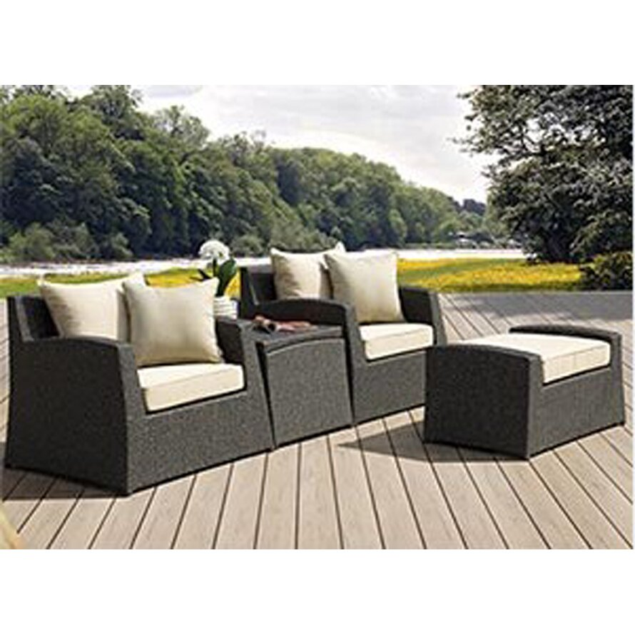 Borealis by Starsong Marisol 4 Piece Lounge Chair Set with