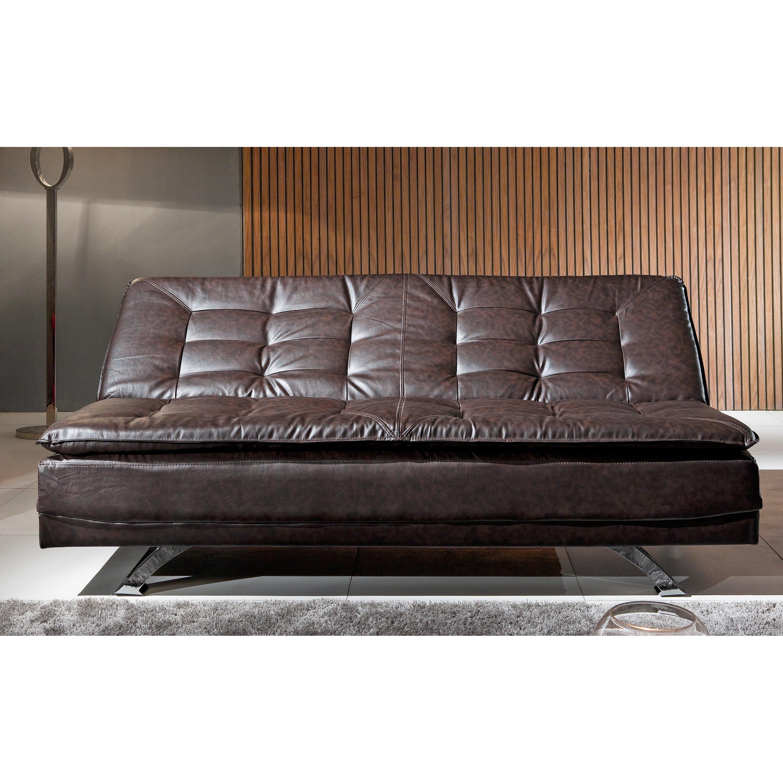 Borealis Faux Leather Sleeper Sofa Wayfair