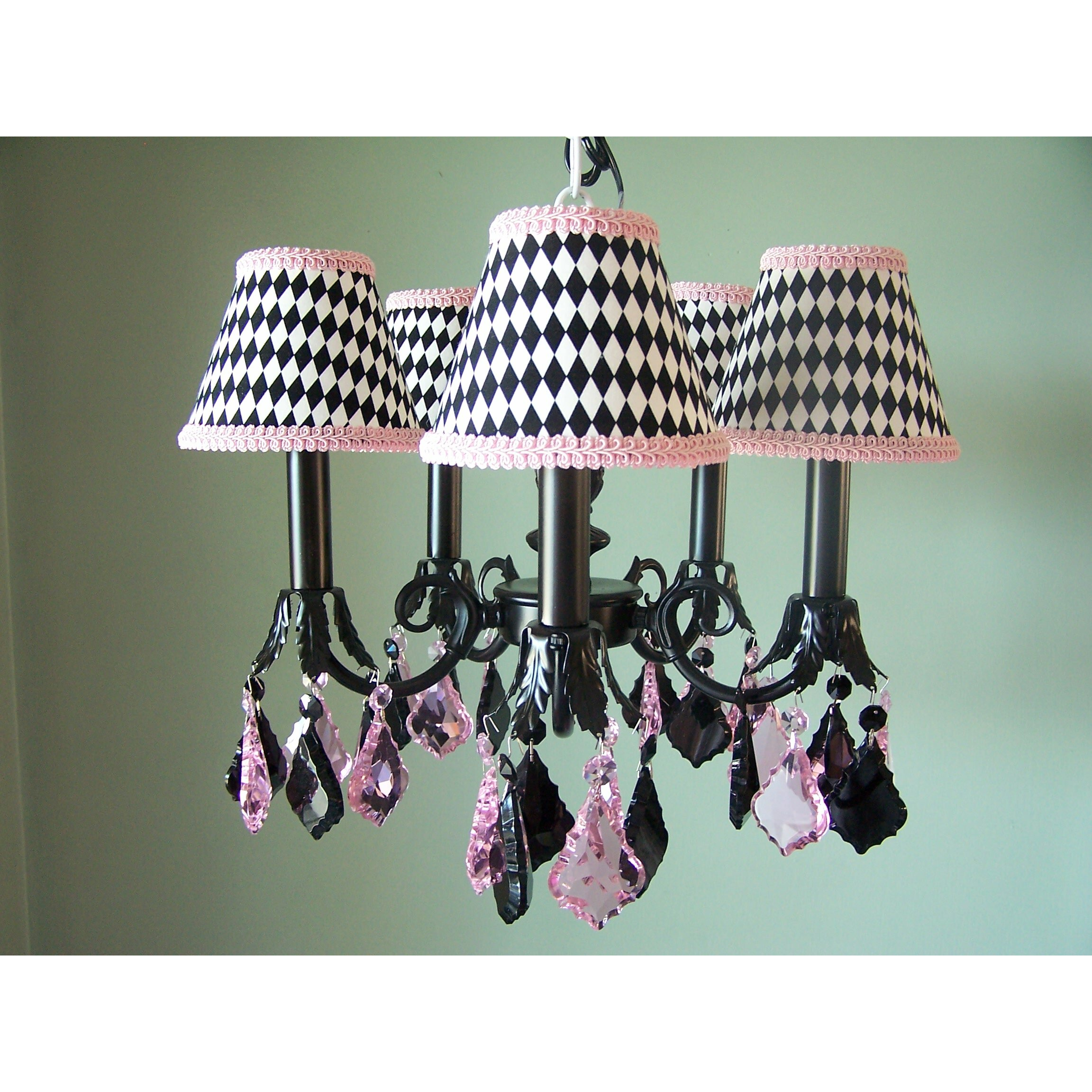 silly bear haute harlequin 5 light chandelier wayfair. Black Bedroom Furniture Sets. Home Design Ideas