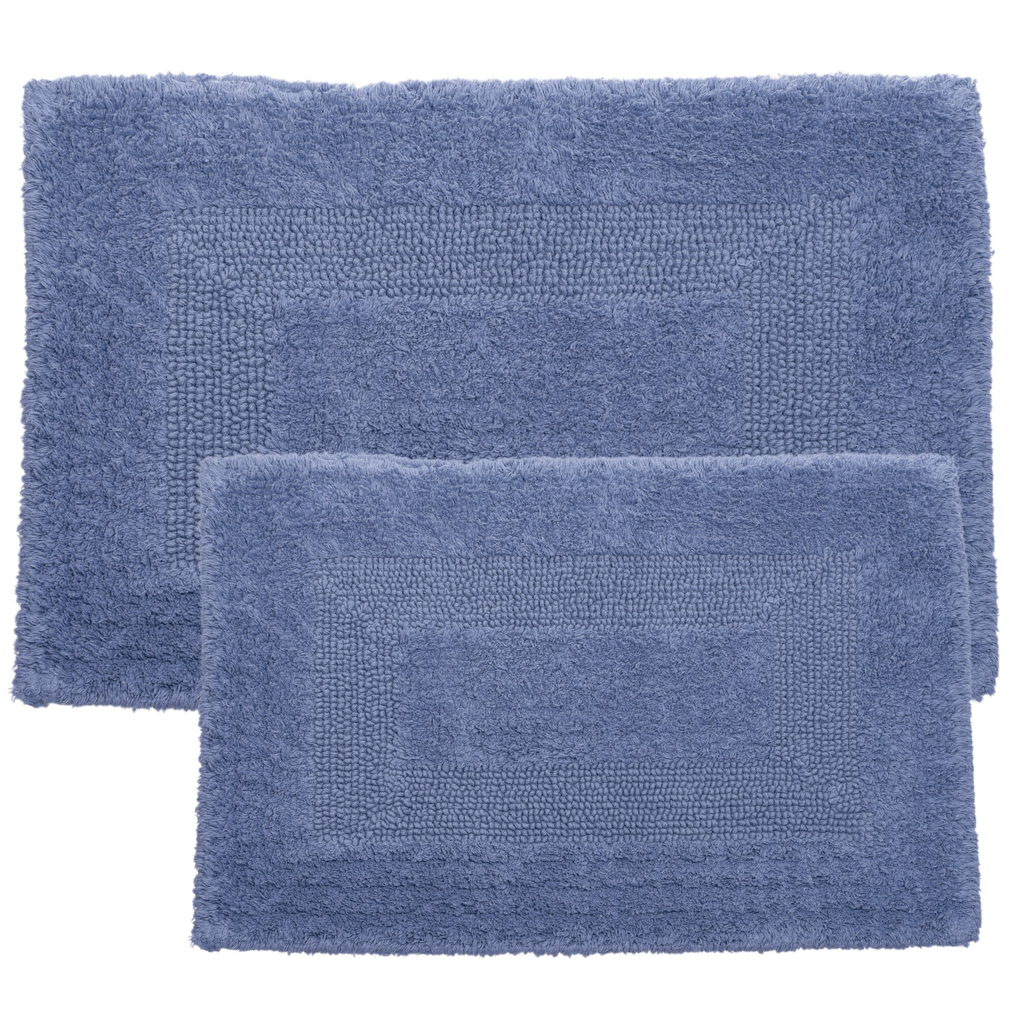 Lavish Home 2 Piece Reversible Bath Rug Set & Reviews
