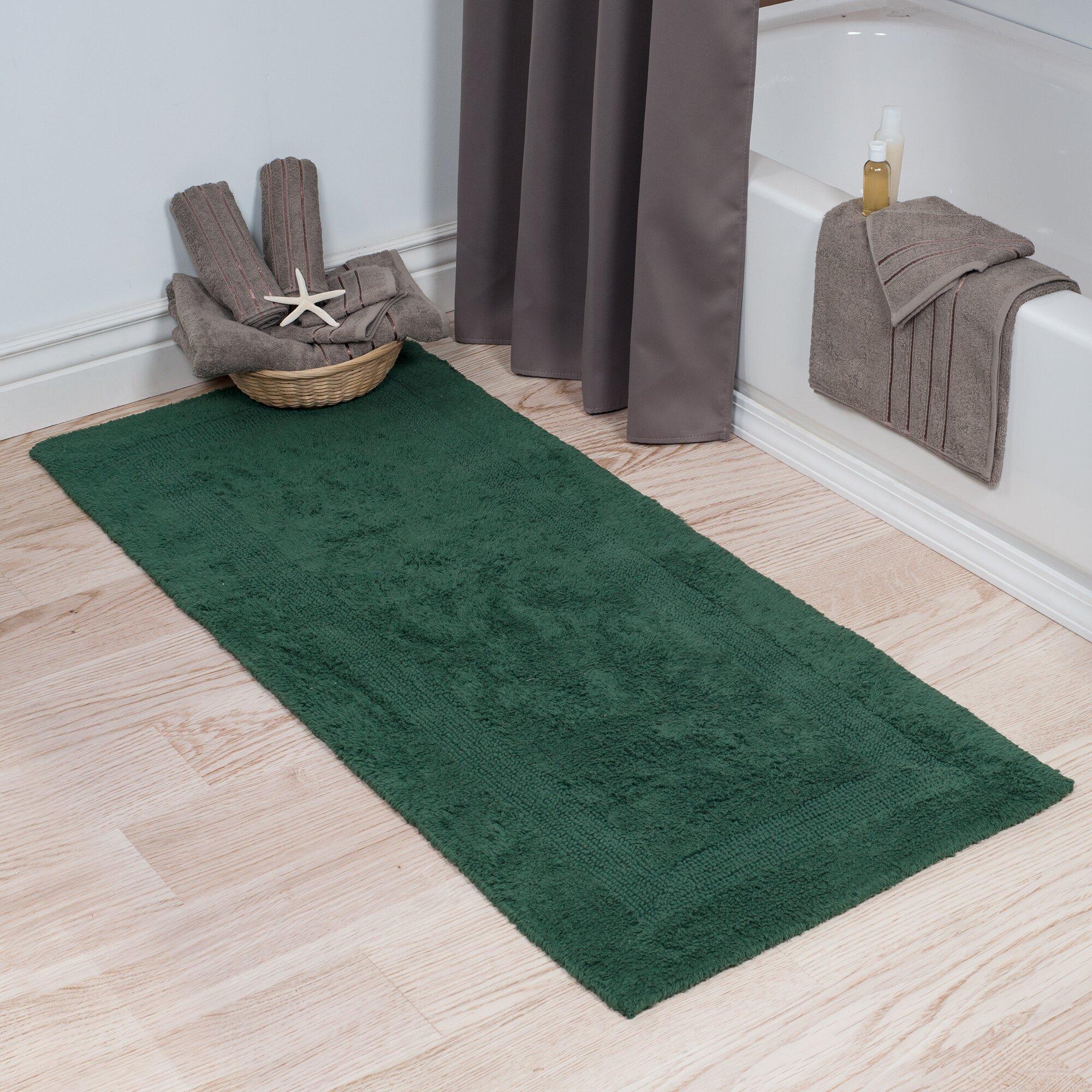Lavish Home Extra Long Reversible Bath Rug & Reviews