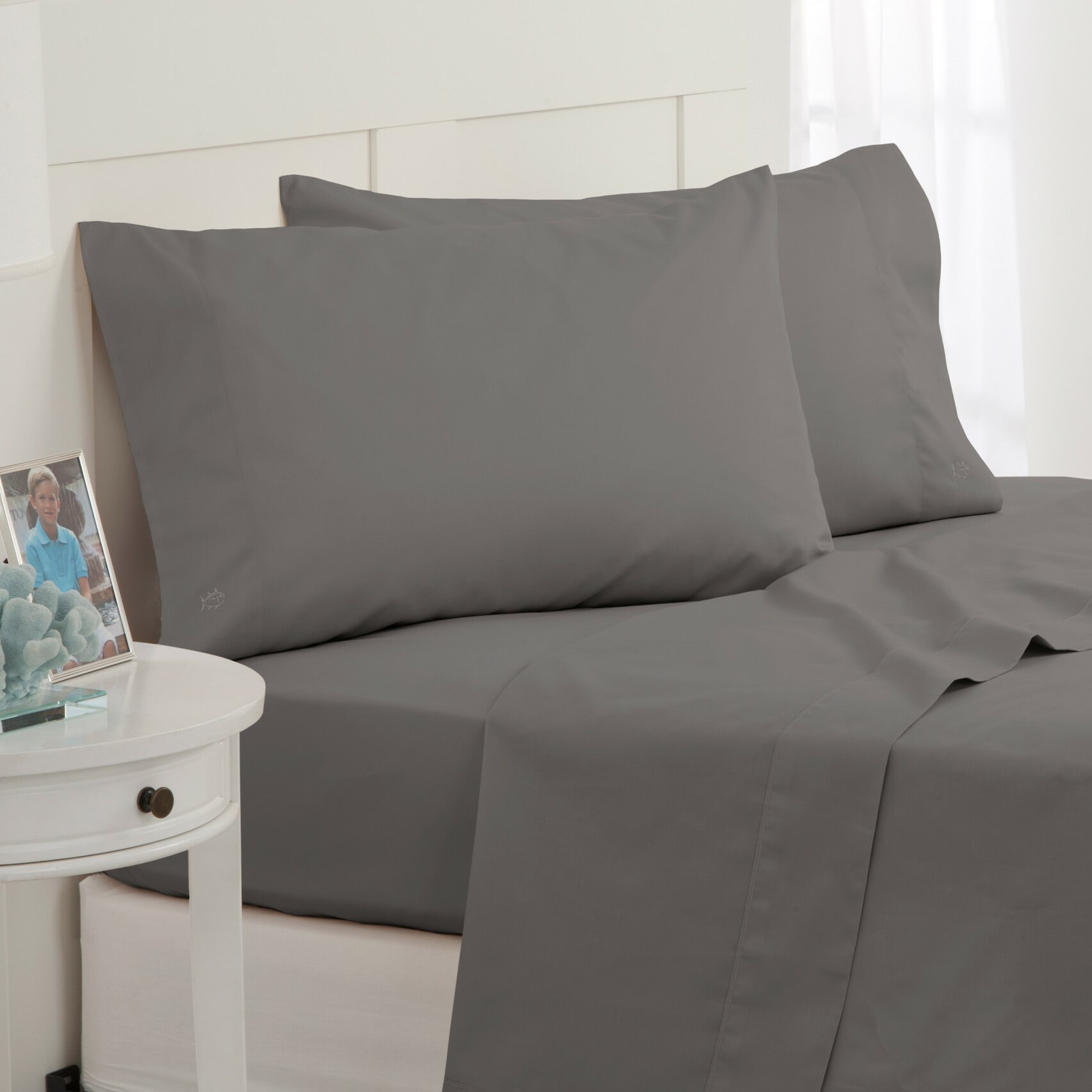Southern tide skipjack 300 thread count 100 cotton sheet for Southern tide bedding