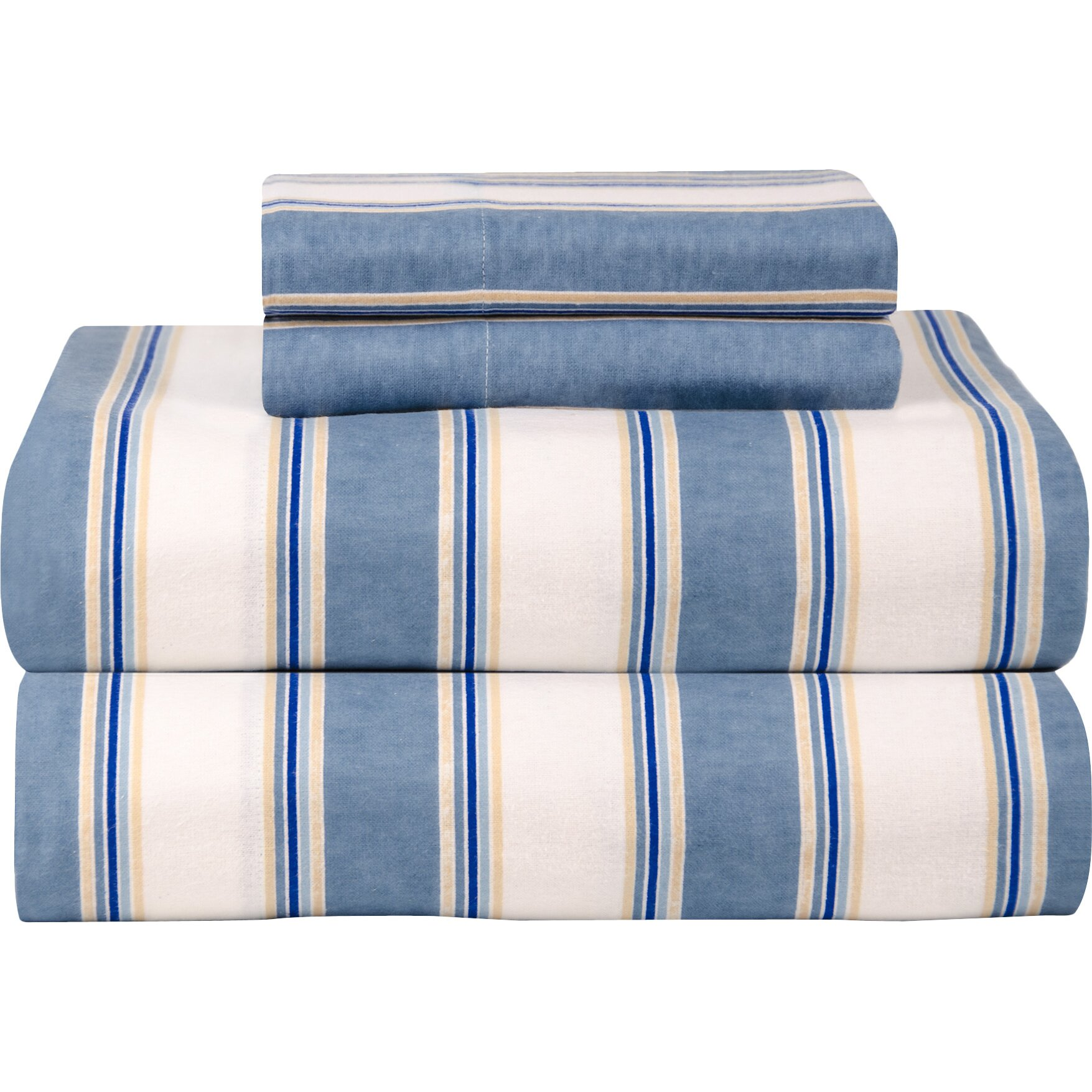 Celeste Home Celeste Home Ultra Soft Flannel Sheet Set In