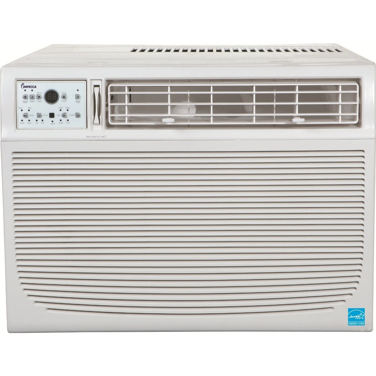 Impecca 15000 btu compact window air conditioner wayfair for 15 width window air conditioner